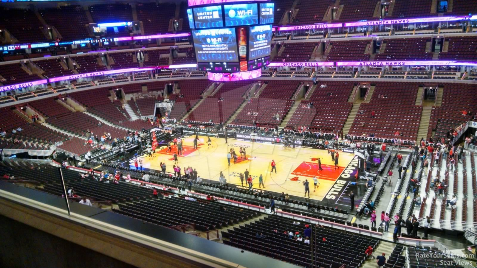 United Center Section 315 Chicago Bulls Rateyourseats Com
