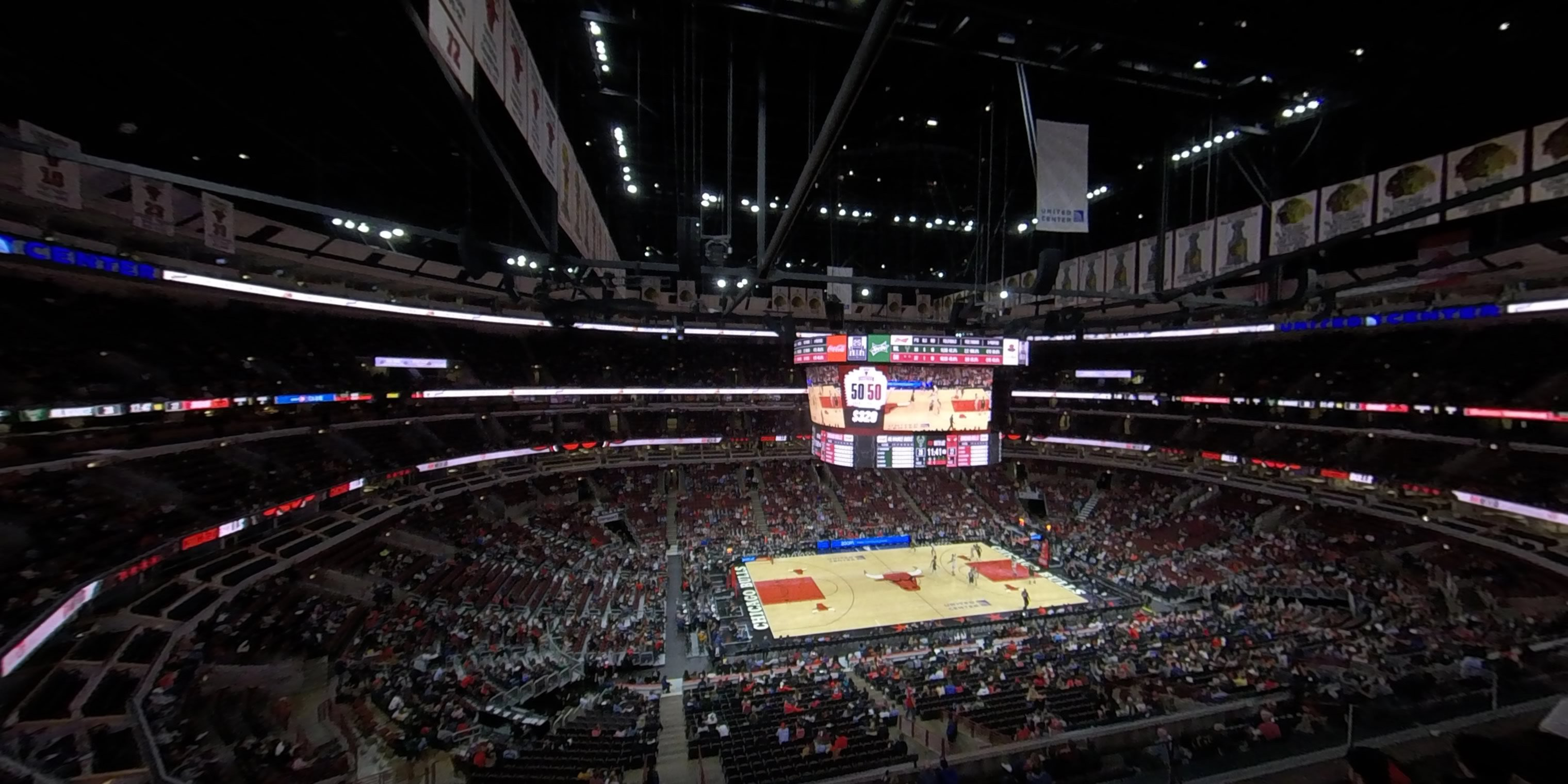 360° Photo From United Center Section 319