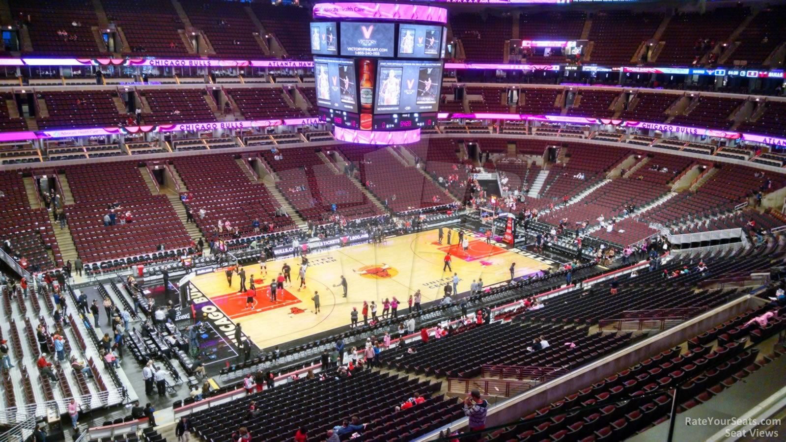 Exterior: United Center Section 320