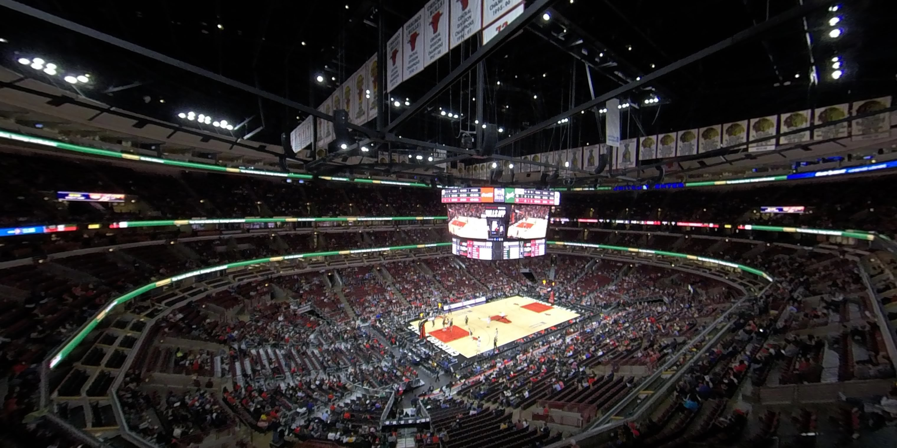 360° Photo From United Center Section 322