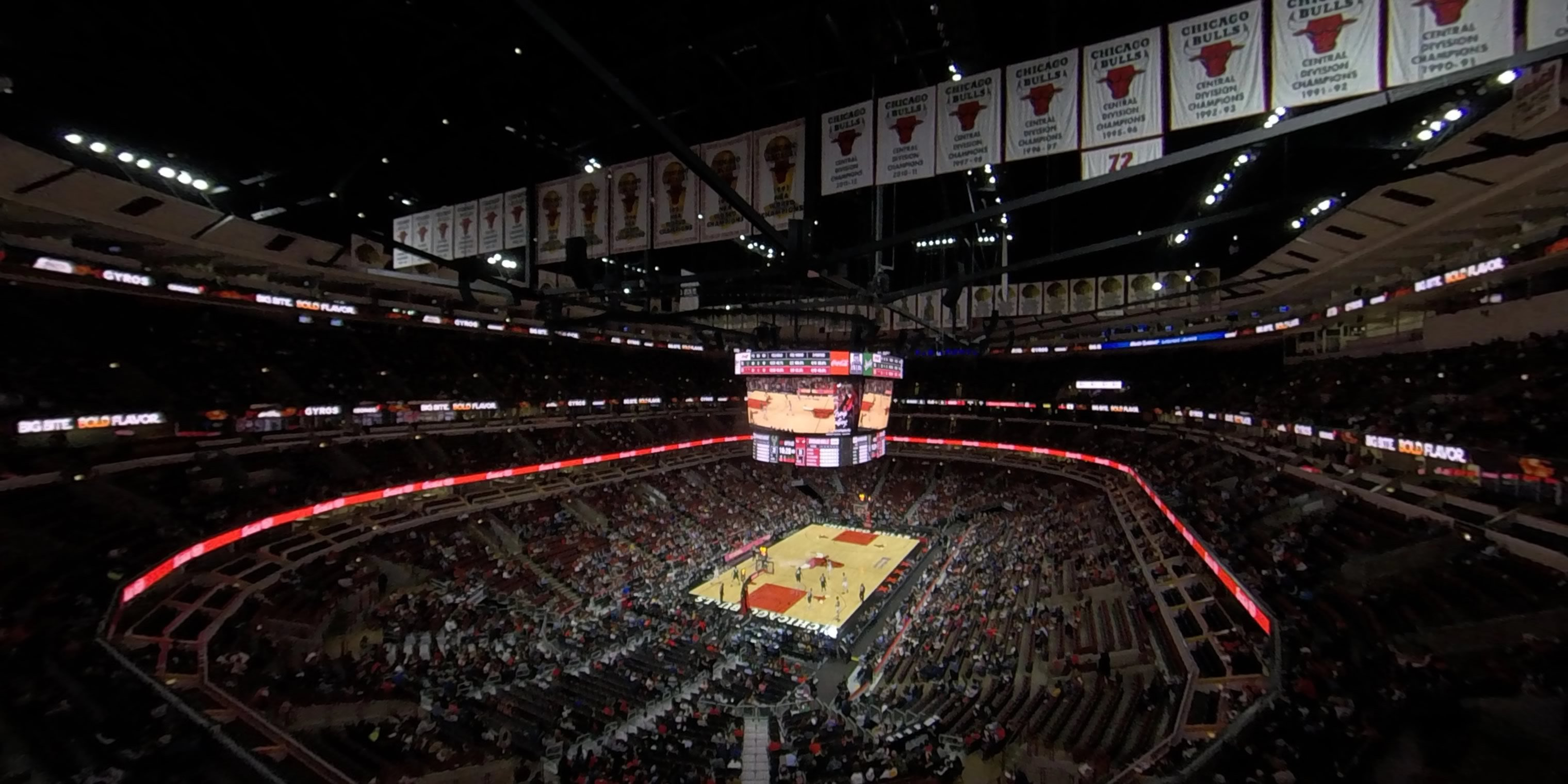 360° Photo From United Center Section 323