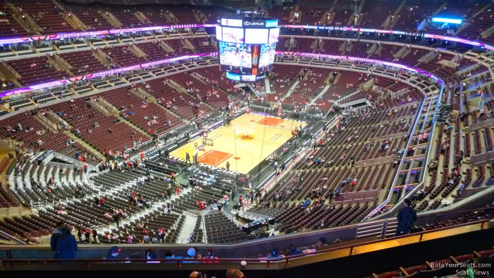 United Center Section 323 Chicago Bulls Rateyourseats Com