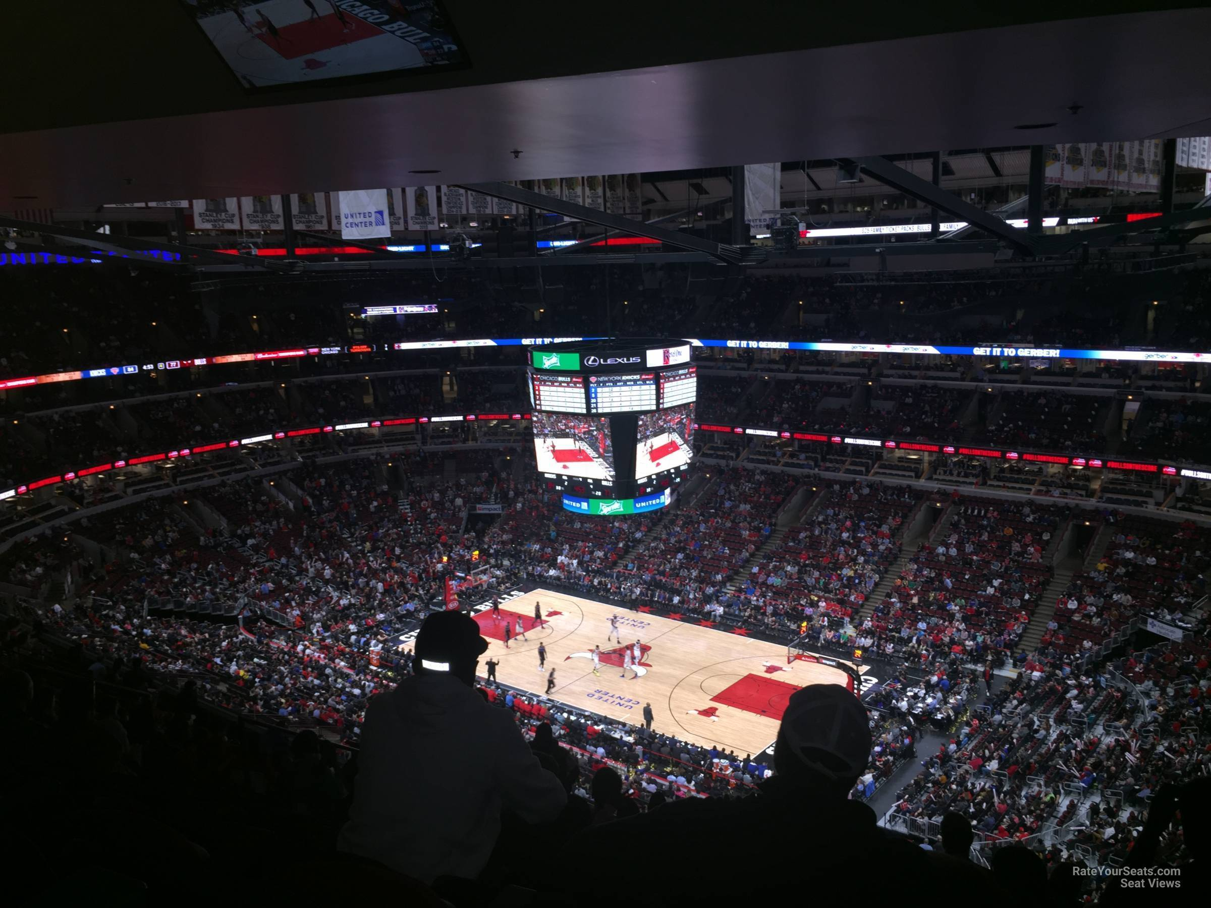 United Center Section 331 - Chicago Bulls - RateYourSeats.com