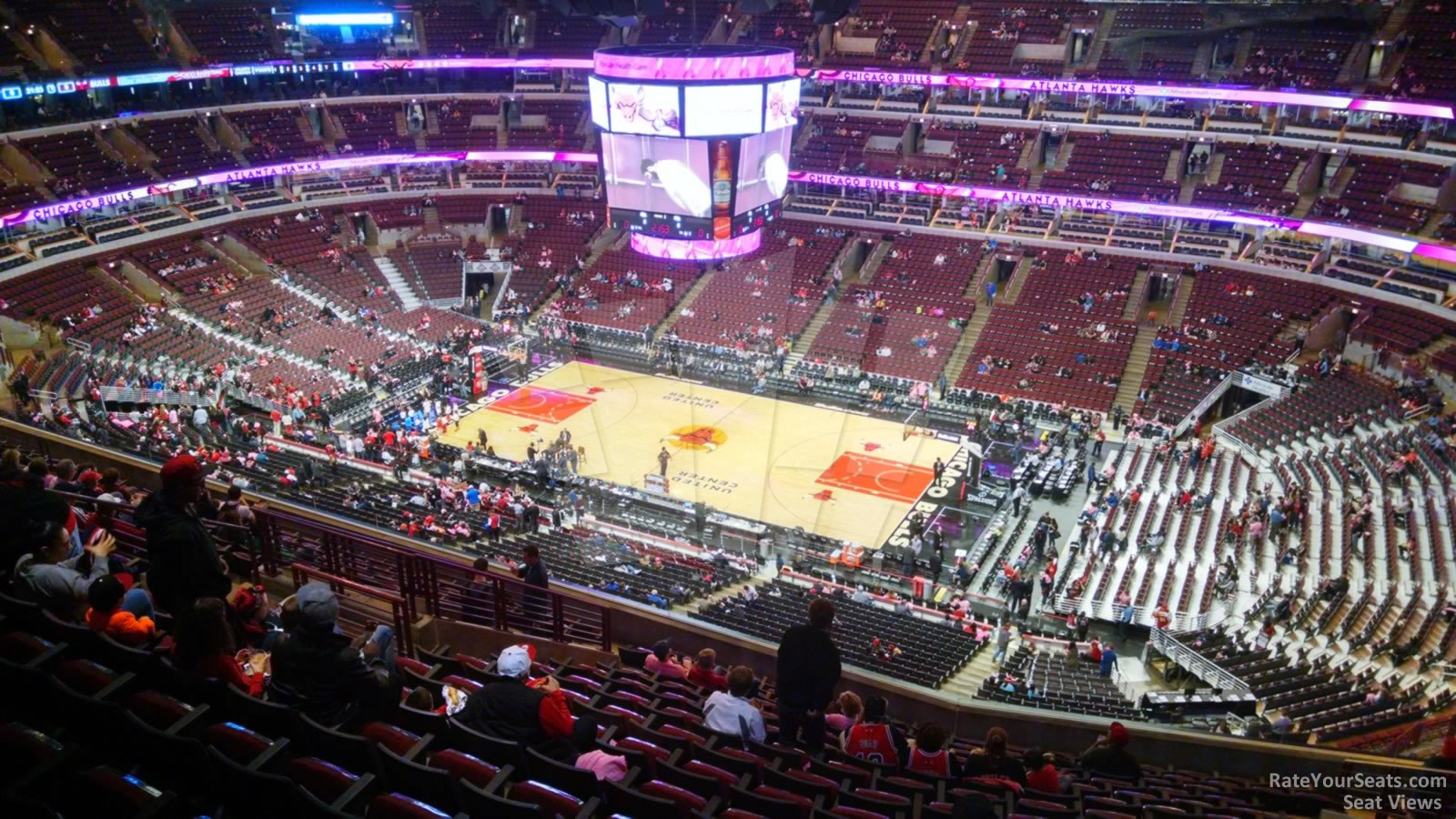 Exterior: United Center Section 332