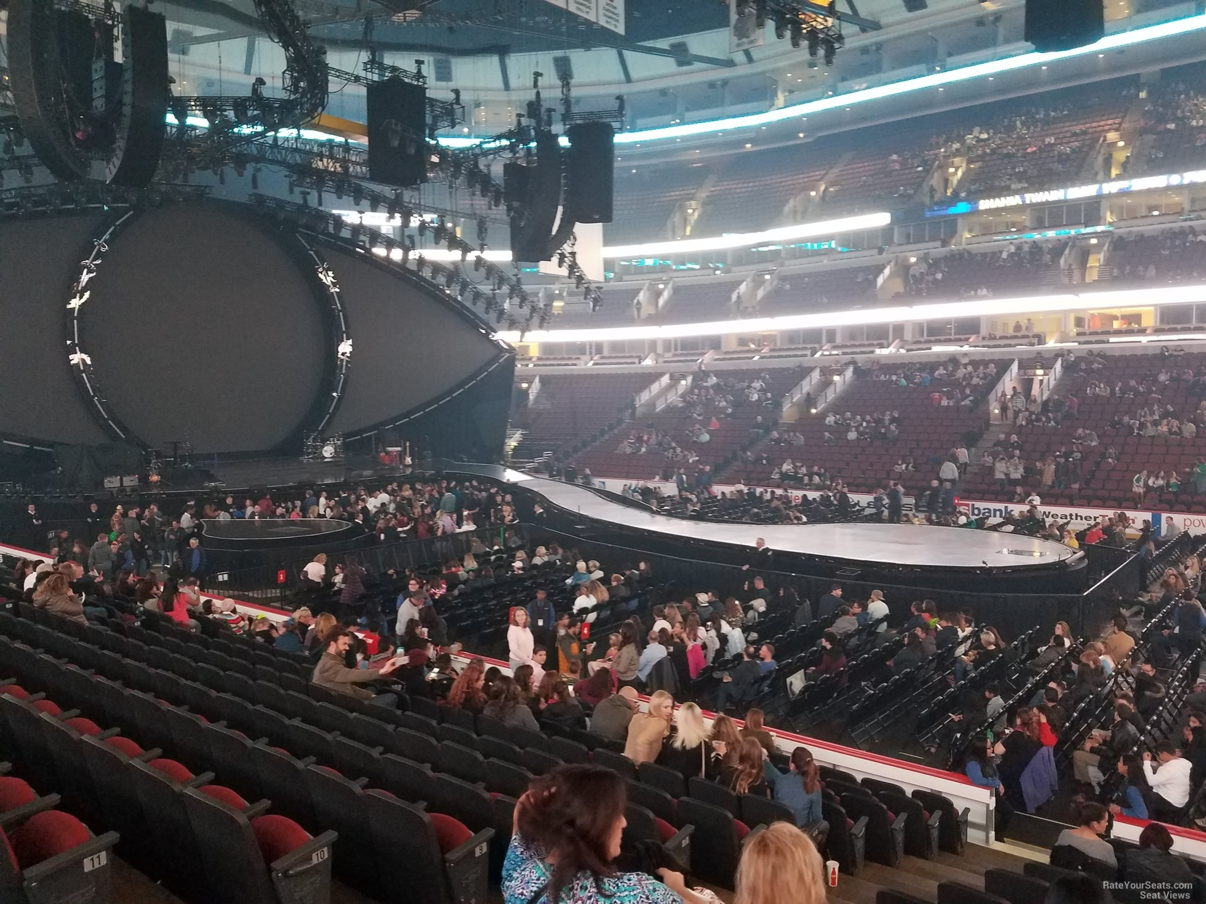 United Center Section 110 Concert Seating Rateyourseats Com