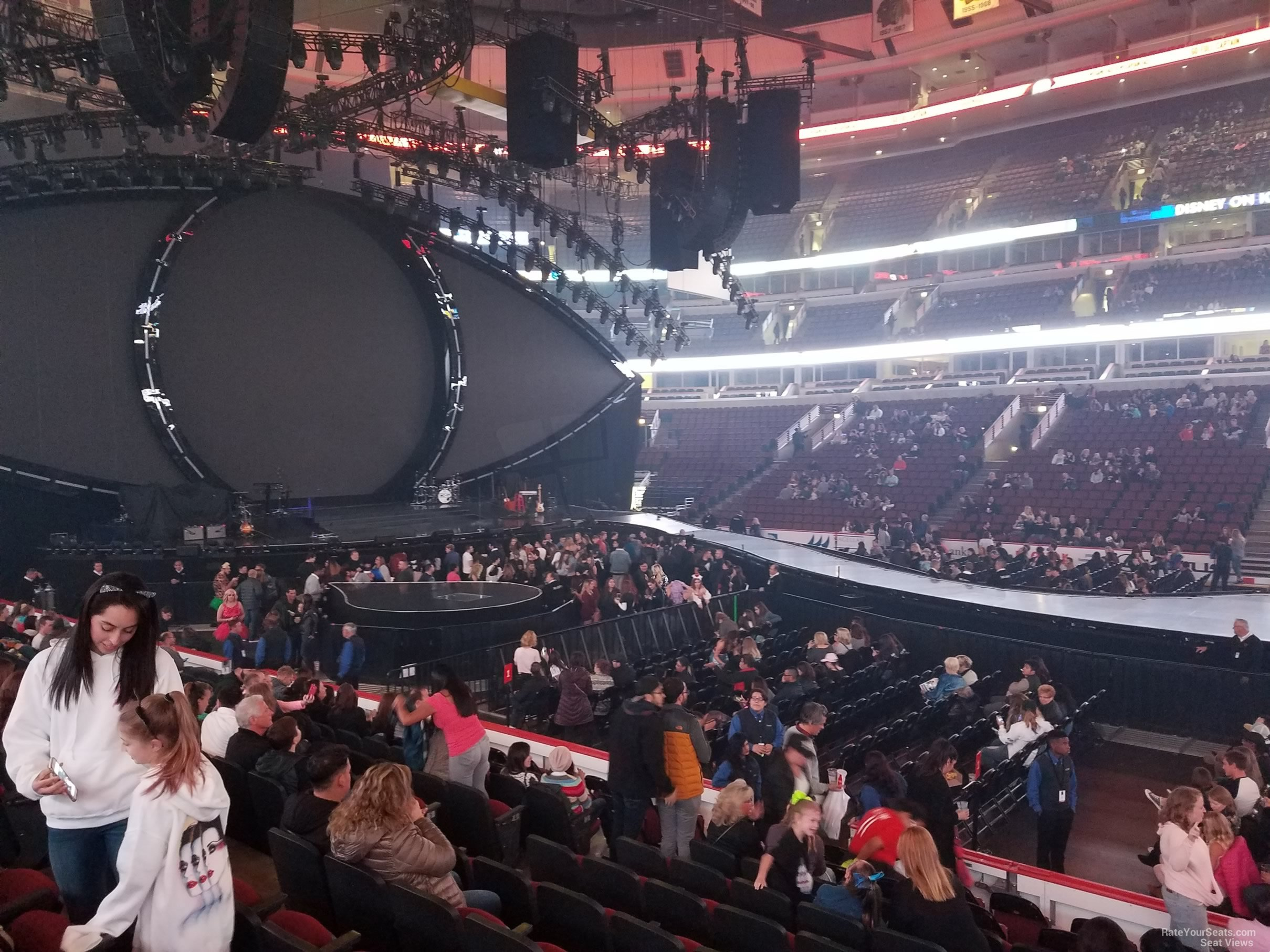 United Center Section 111 Concert Seating Rateyourseats Com