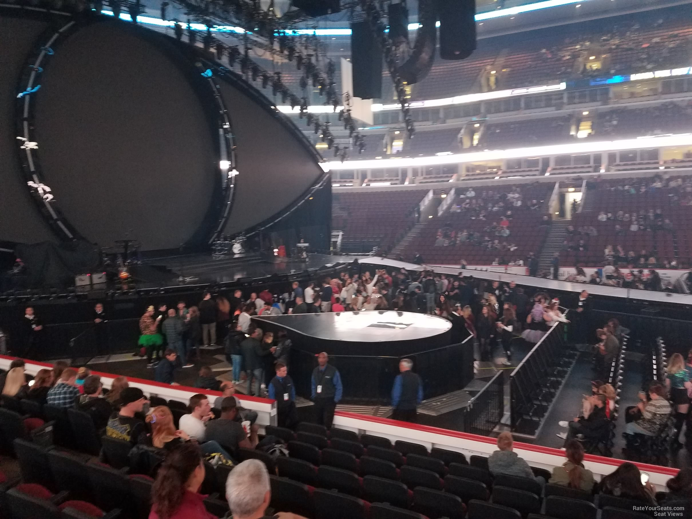 United Center Section 112 Concert Seating Rateyourseats Com