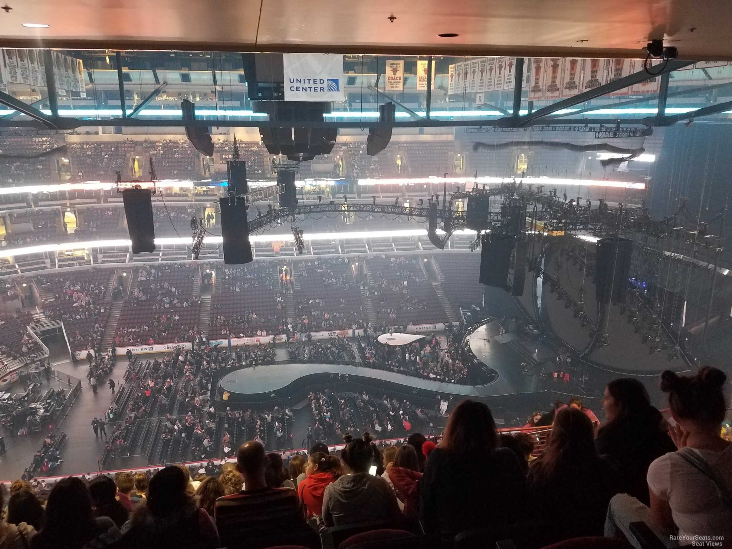 united center section 301 concert seating rateyourseats com