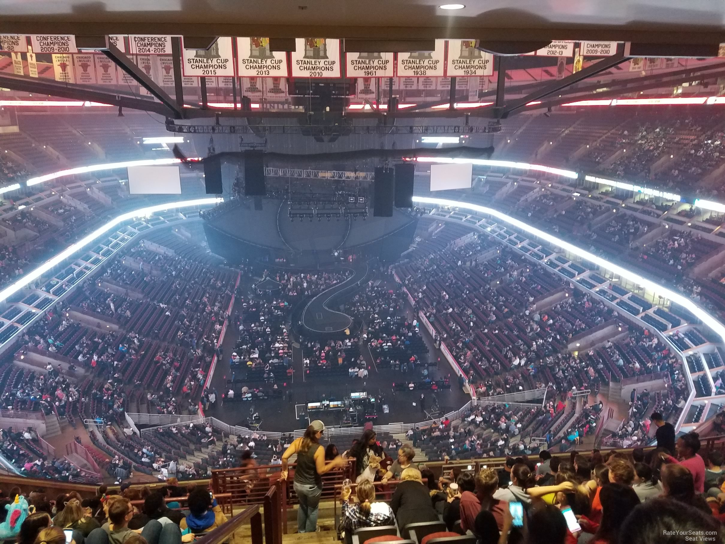 united center section 309 concert seating rateyourseats com