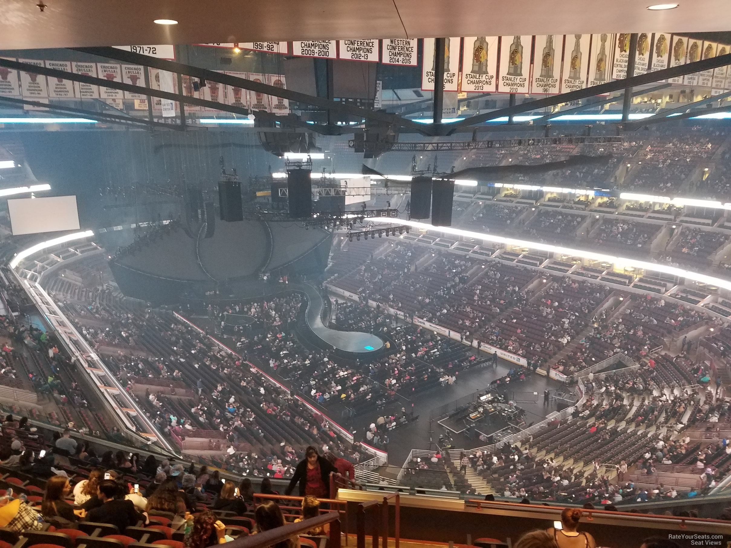 united center section 312 concert seating rateyourseats com