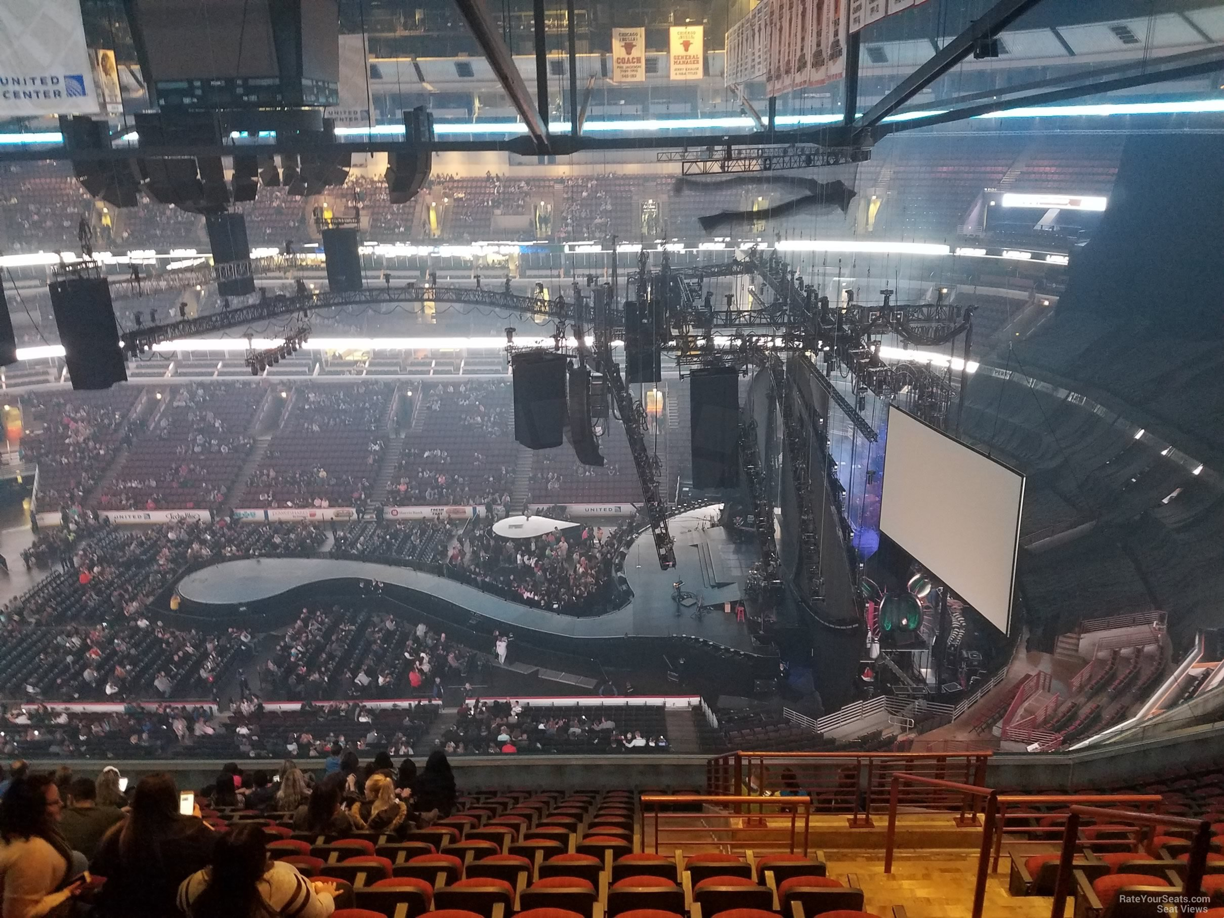 united center section 333 concert seating rateyourseats com