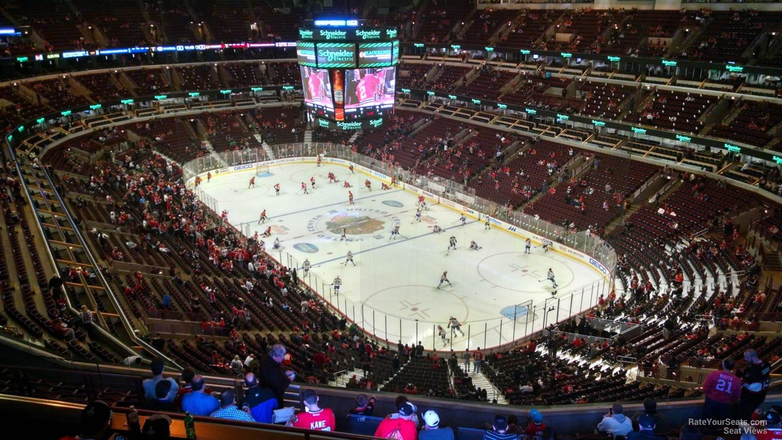 United Center Section 329 - Chicago Blackhawks ...