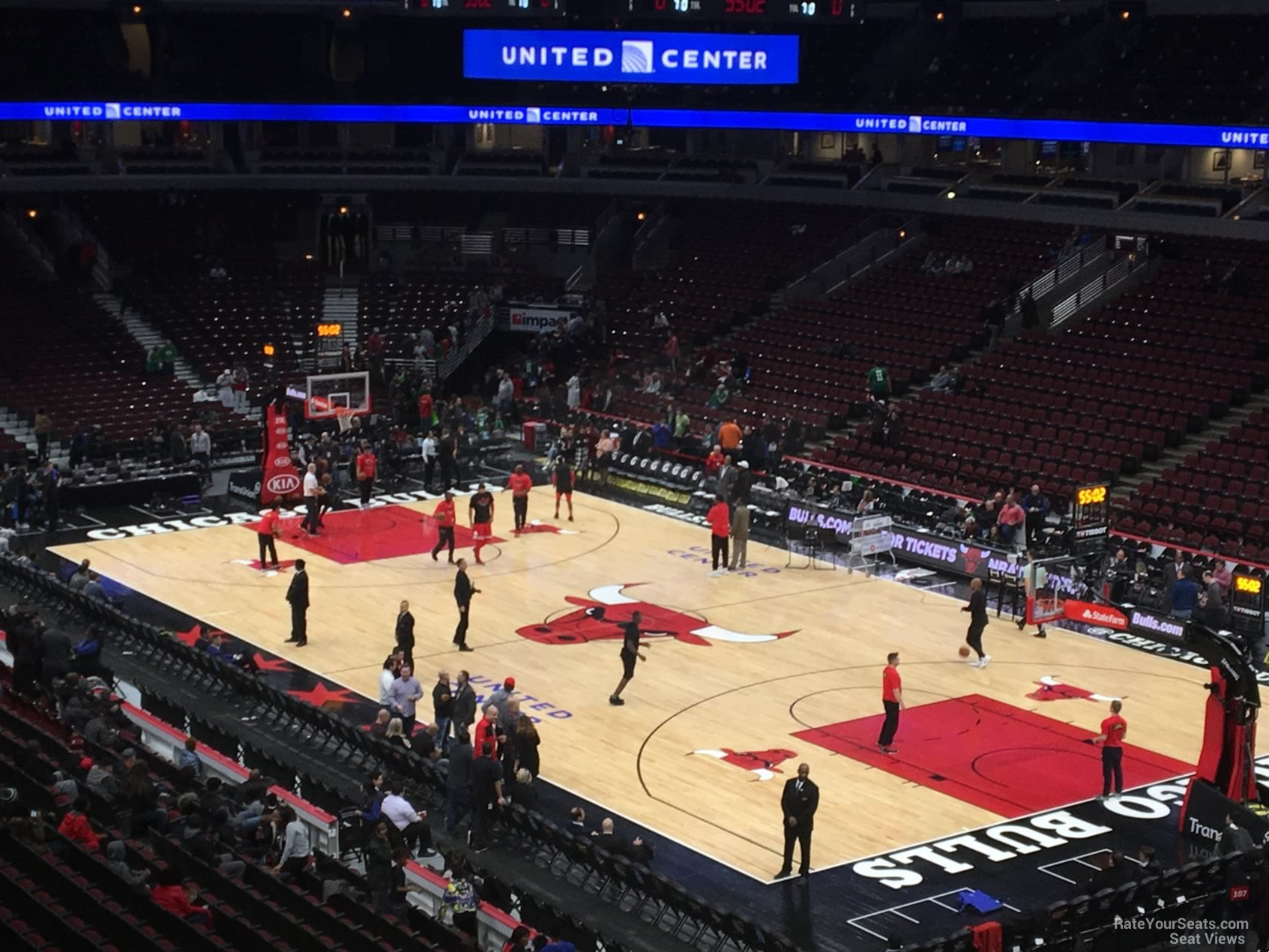 Exterior: United Center Section 213