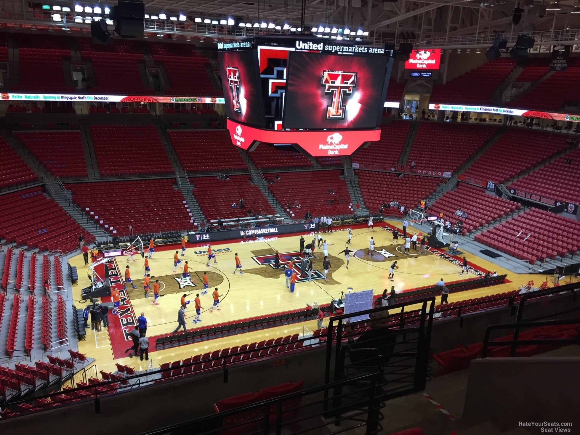 Section 203 at United Supermarkets Arena - RateYourSeats.com