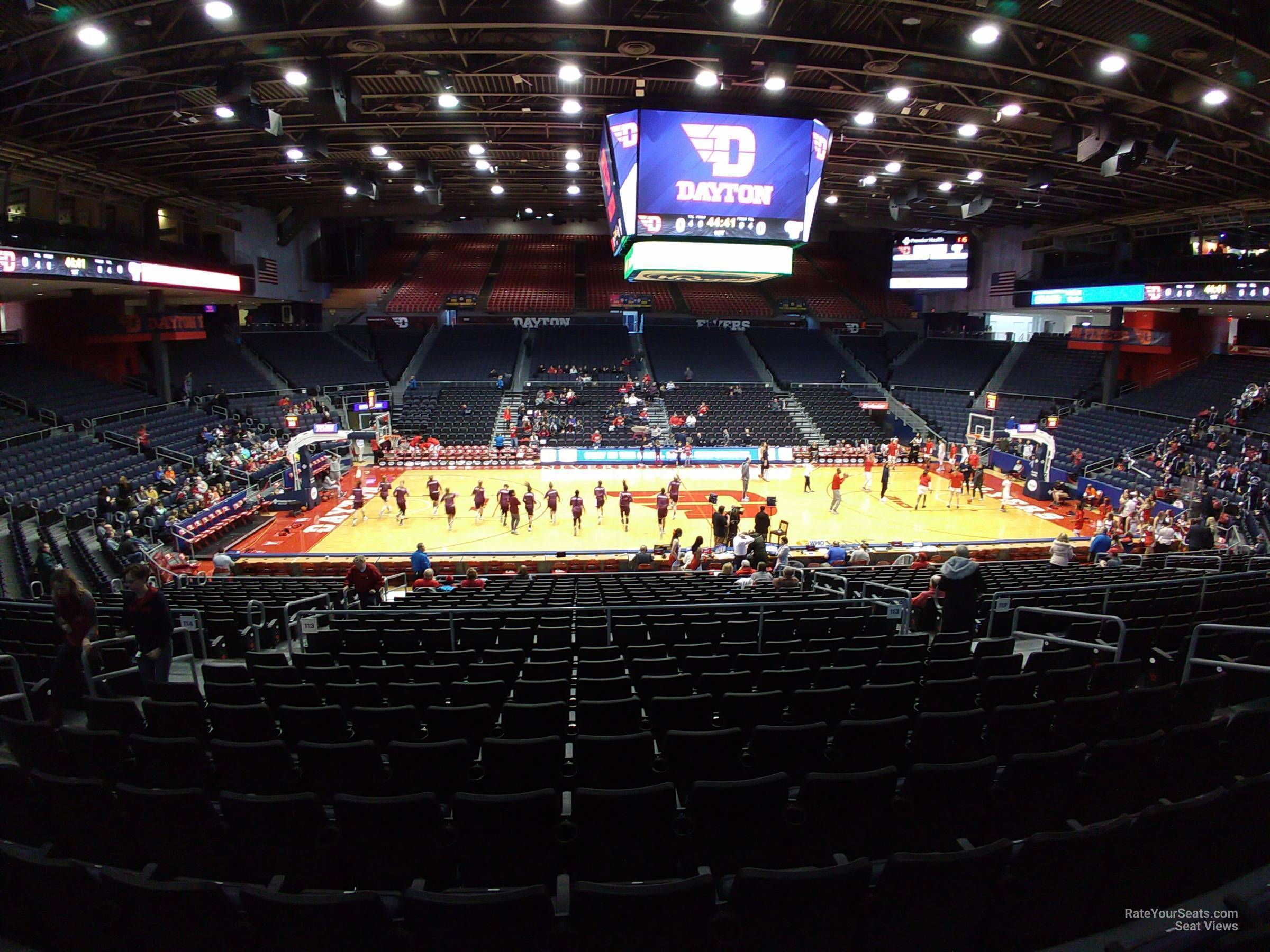 University Of Dayton Arena Section 219 Rateyourseatscom