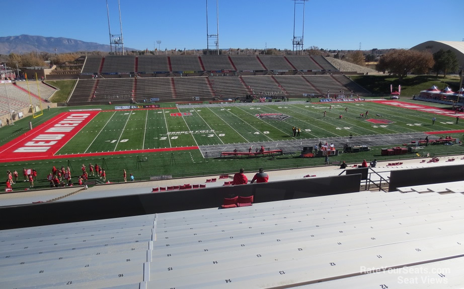 Section G seat view