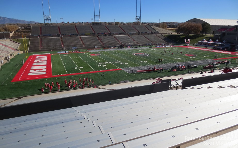 Section H seat view