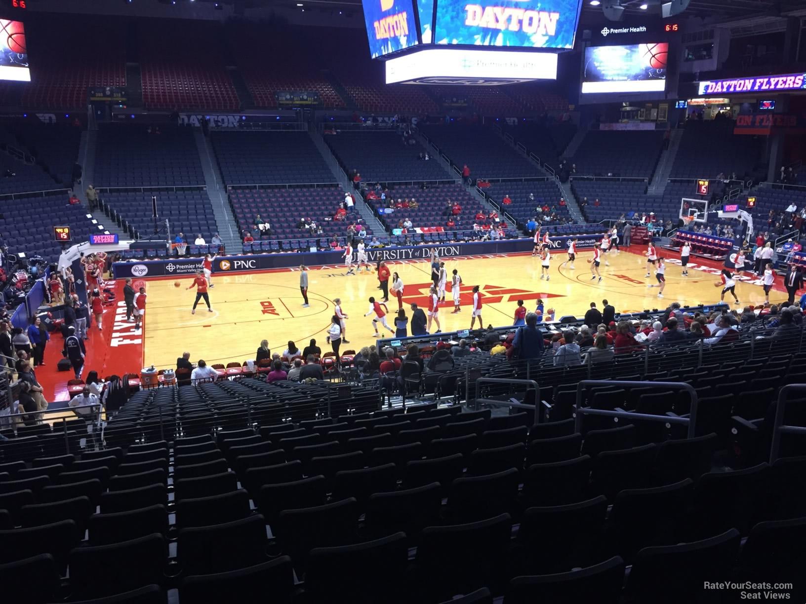 University Of Dayton Arena Section 208 Rateyourseatscom