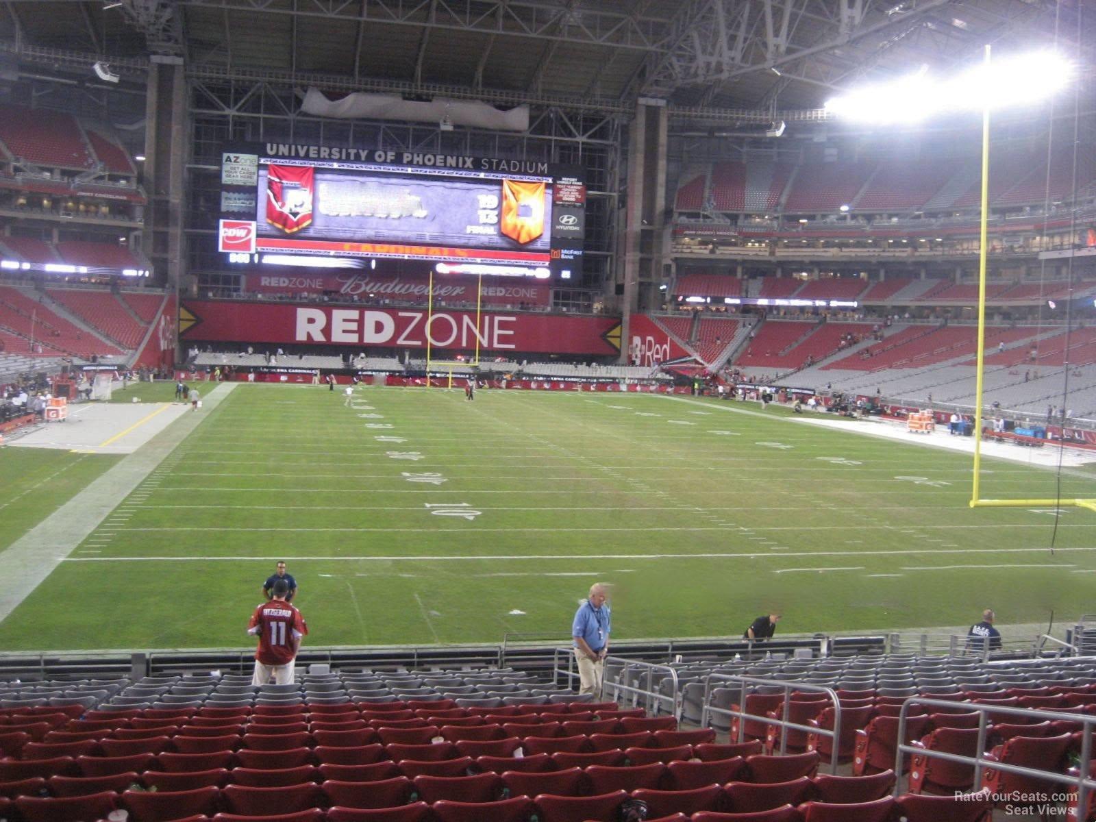 c7ad4d35 State Farm Stadium Section 121 - Arizona Cardinals - RateYourSeats.com