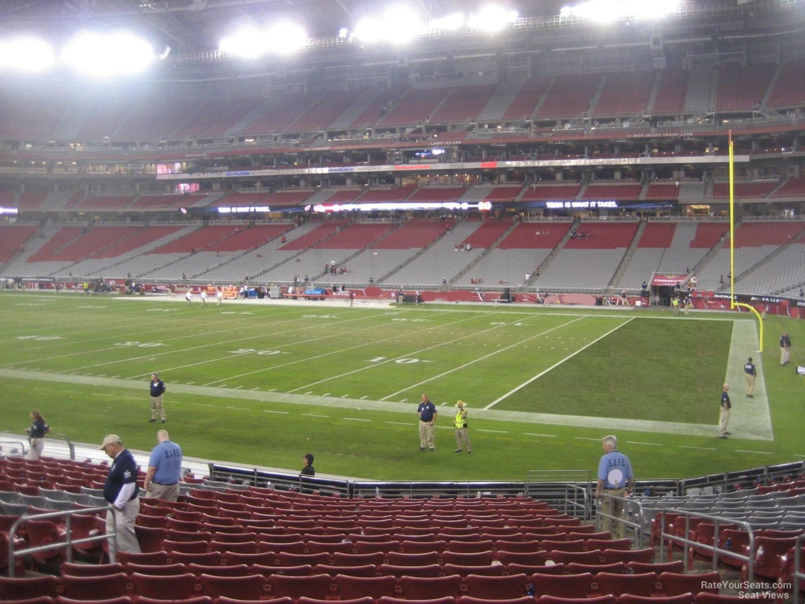 University Of Phoenix Stadium Section 125 Arizona