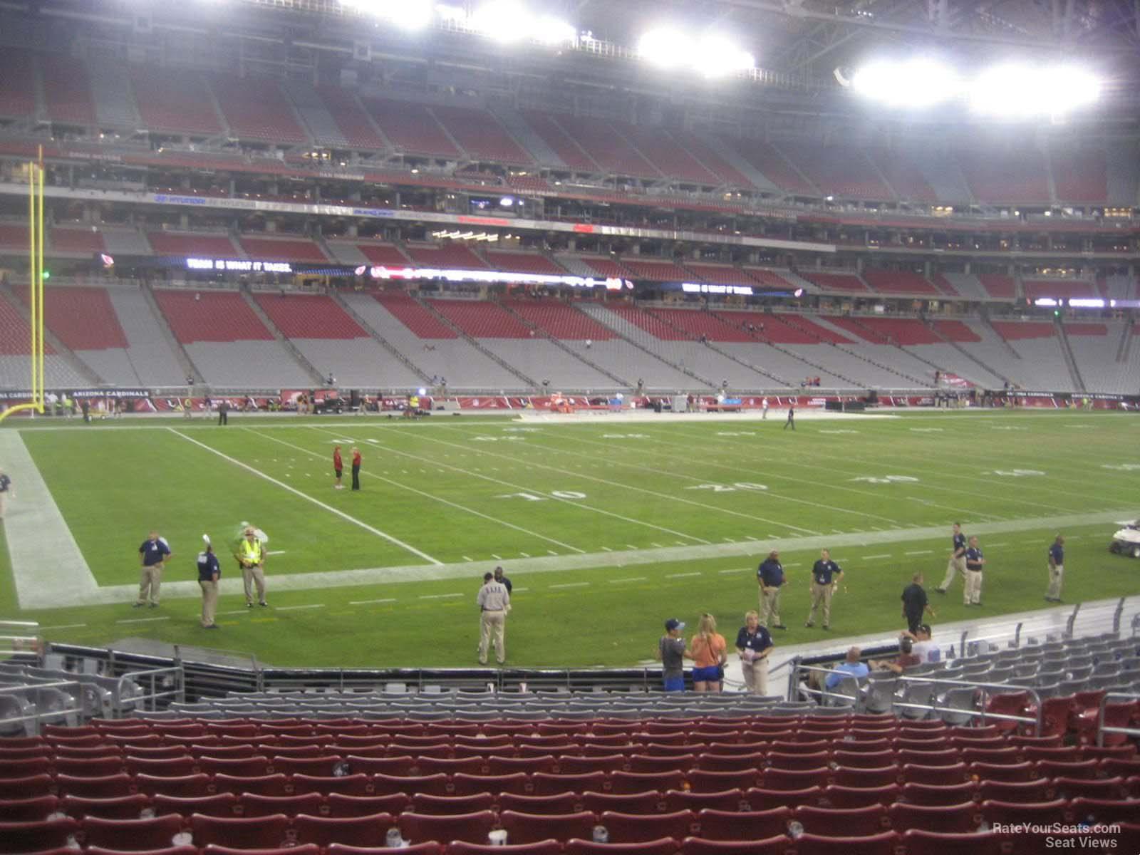 Main Level Corner University Of Phoenix Stadium Football