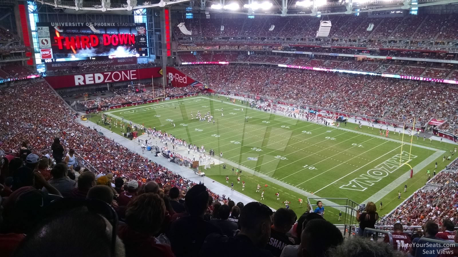 Arizona Cardinals Seat View For State Farm Stadium Section 436