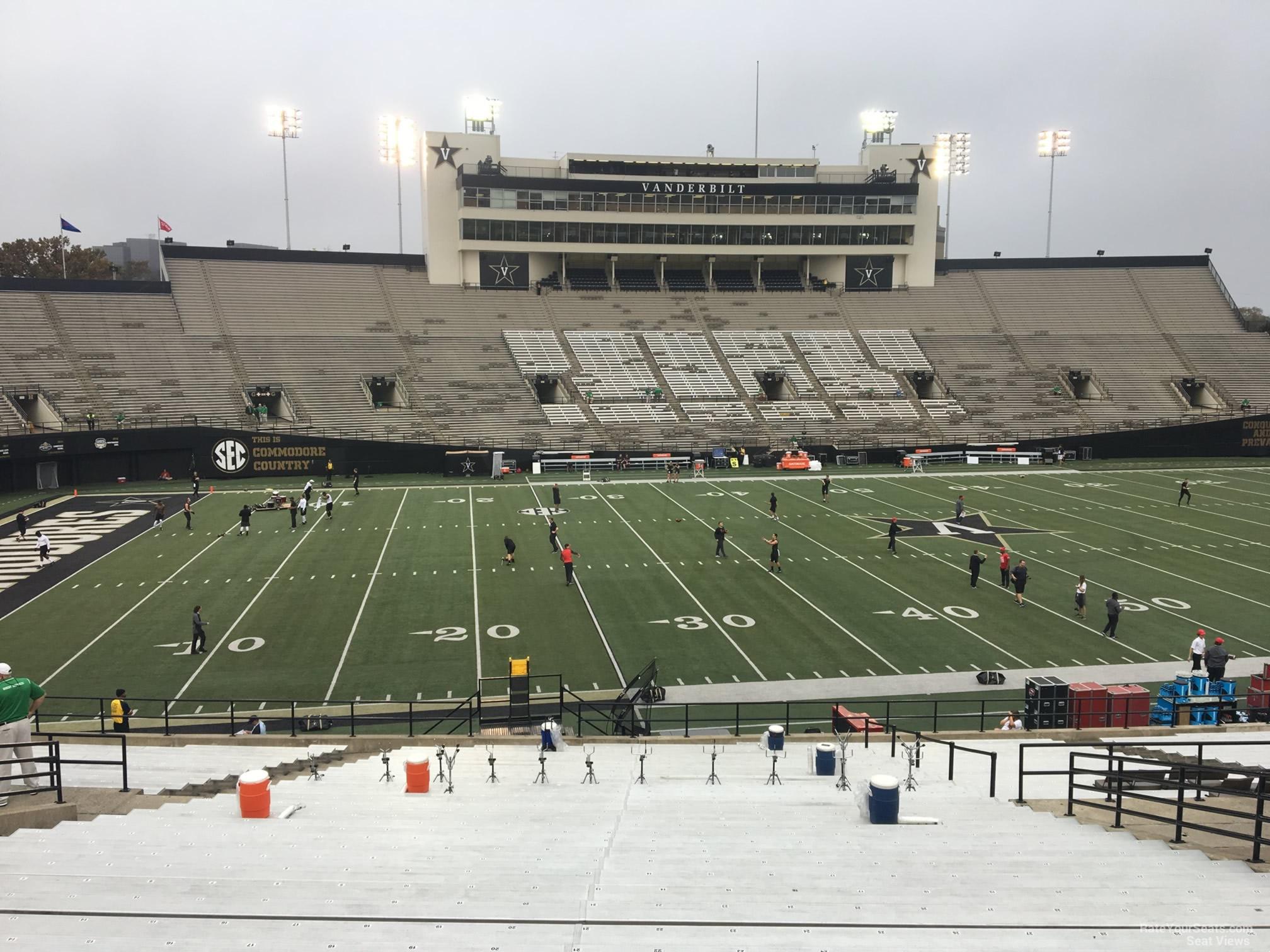 Vanderbilt Stadium Seating Chart Phoneninja