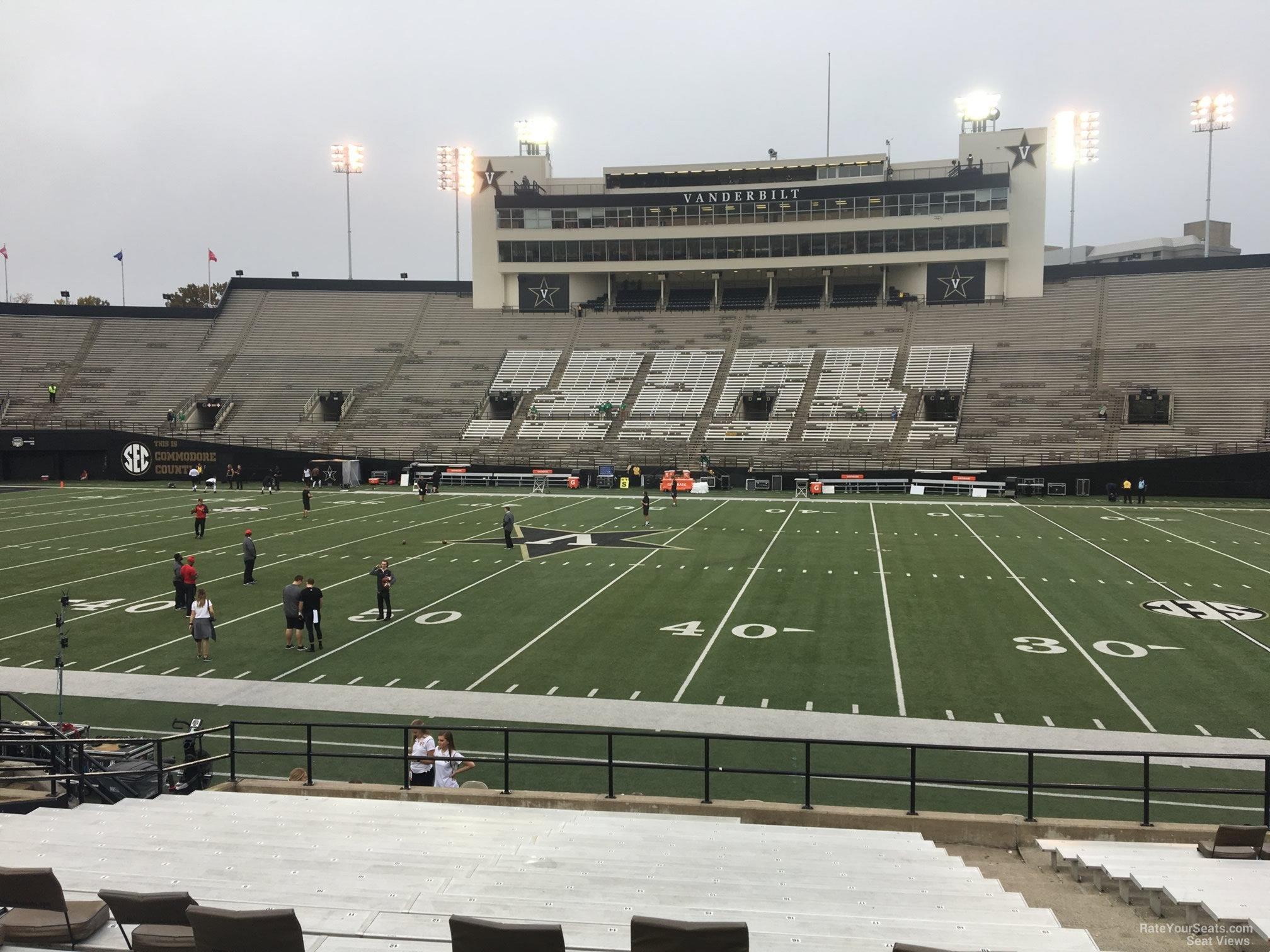Vanderbilt Stadium Section T Rateyourseatscom