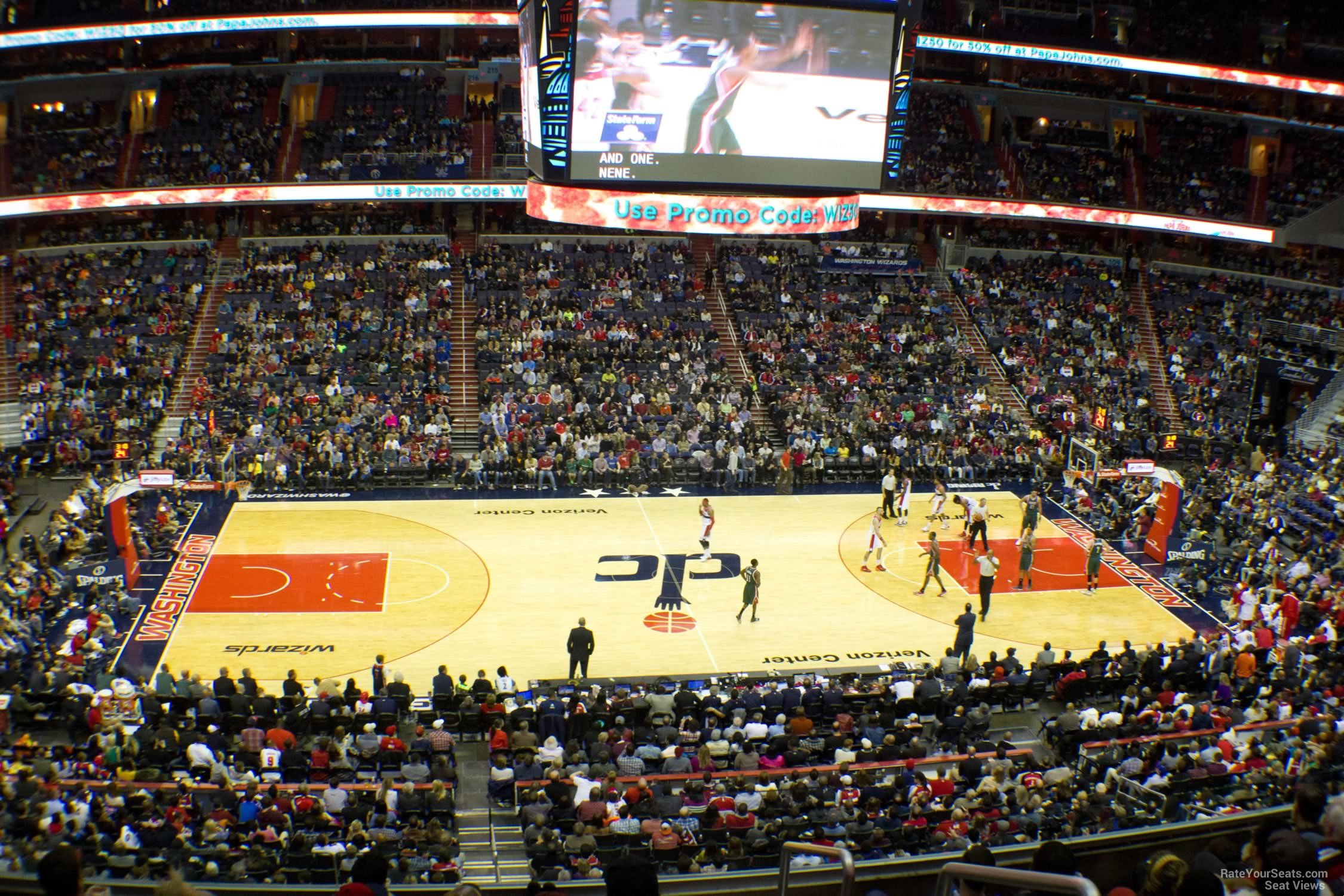 Section 229 seat view
