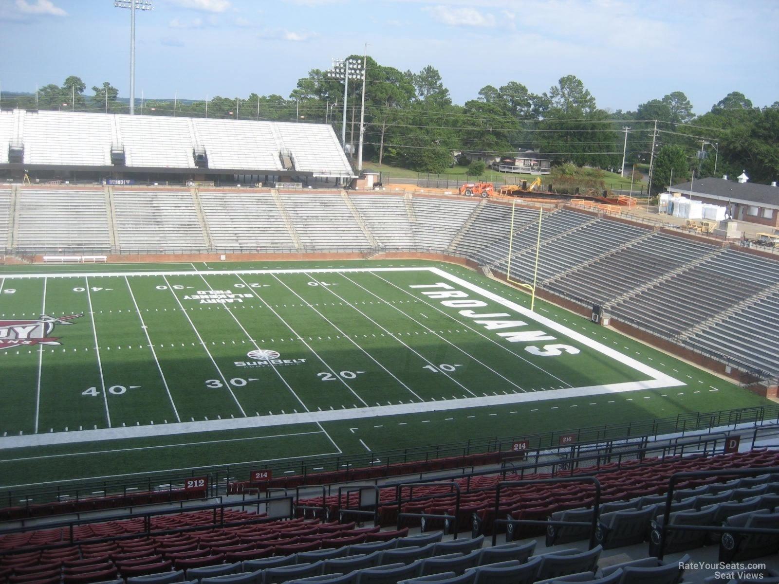Stadium Club C seat view