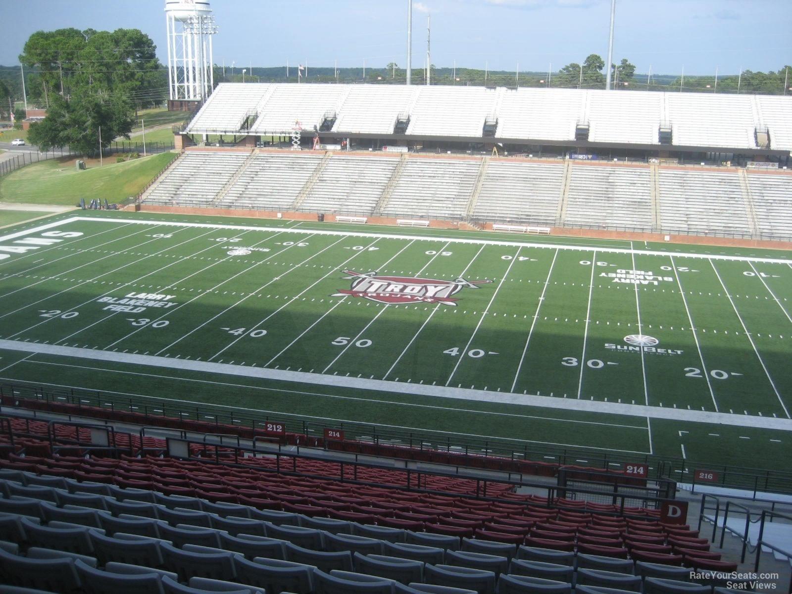 Stadium Club D seat view