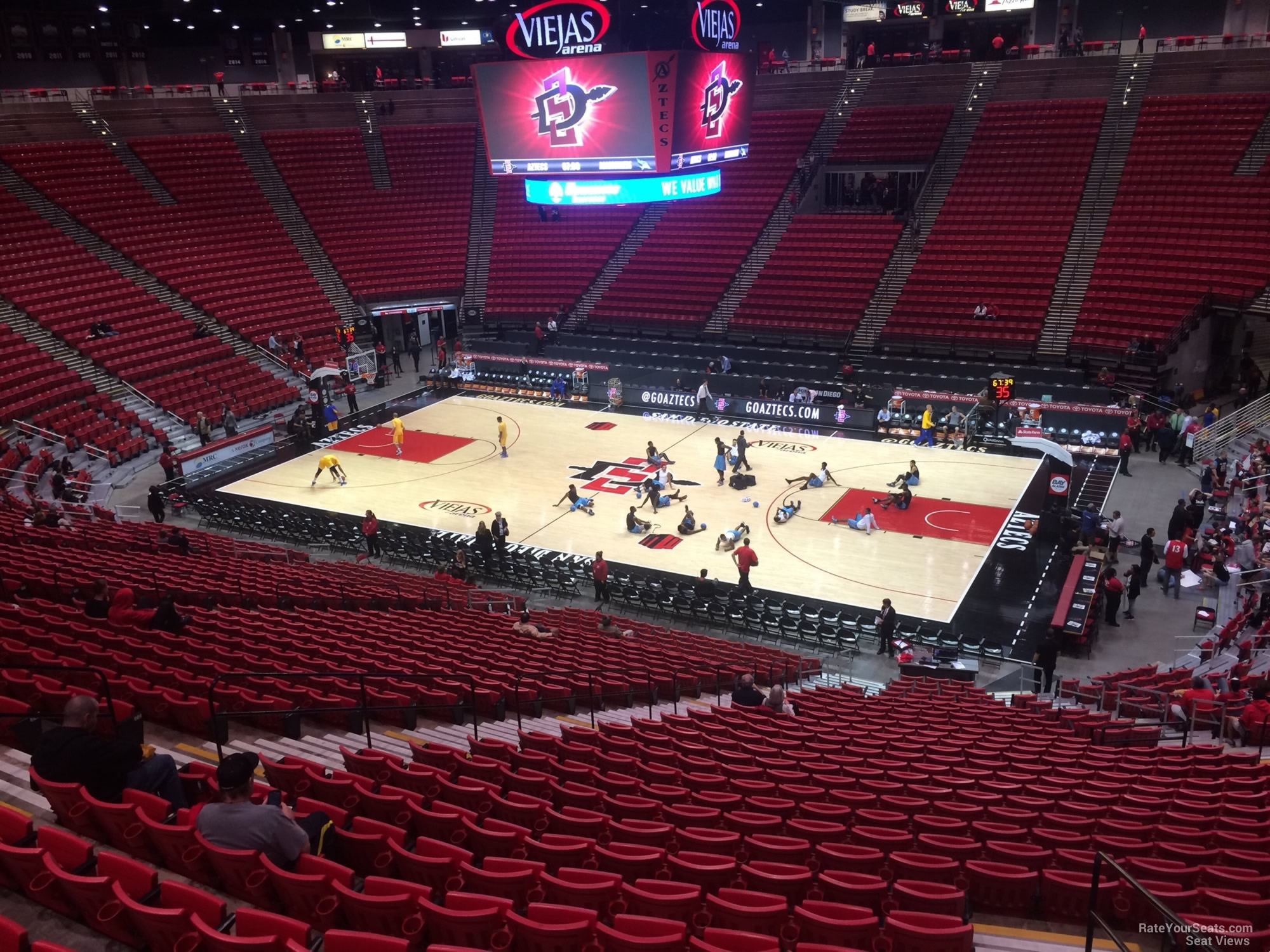 Viejas Arena Section H Rateyourseatscom