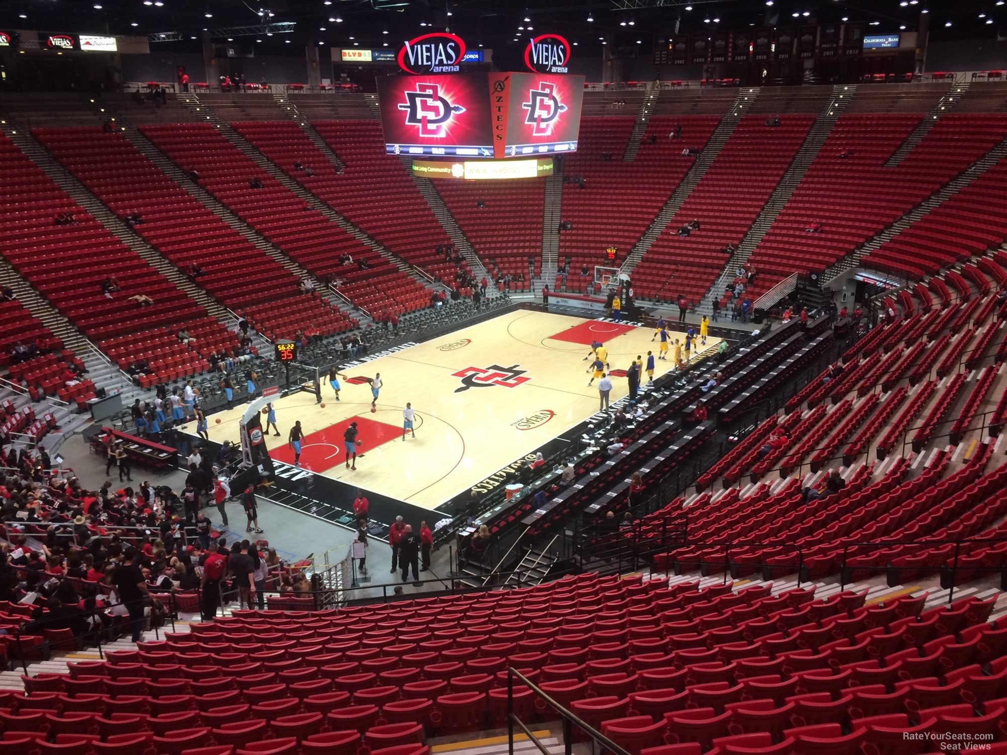 Section N seat view