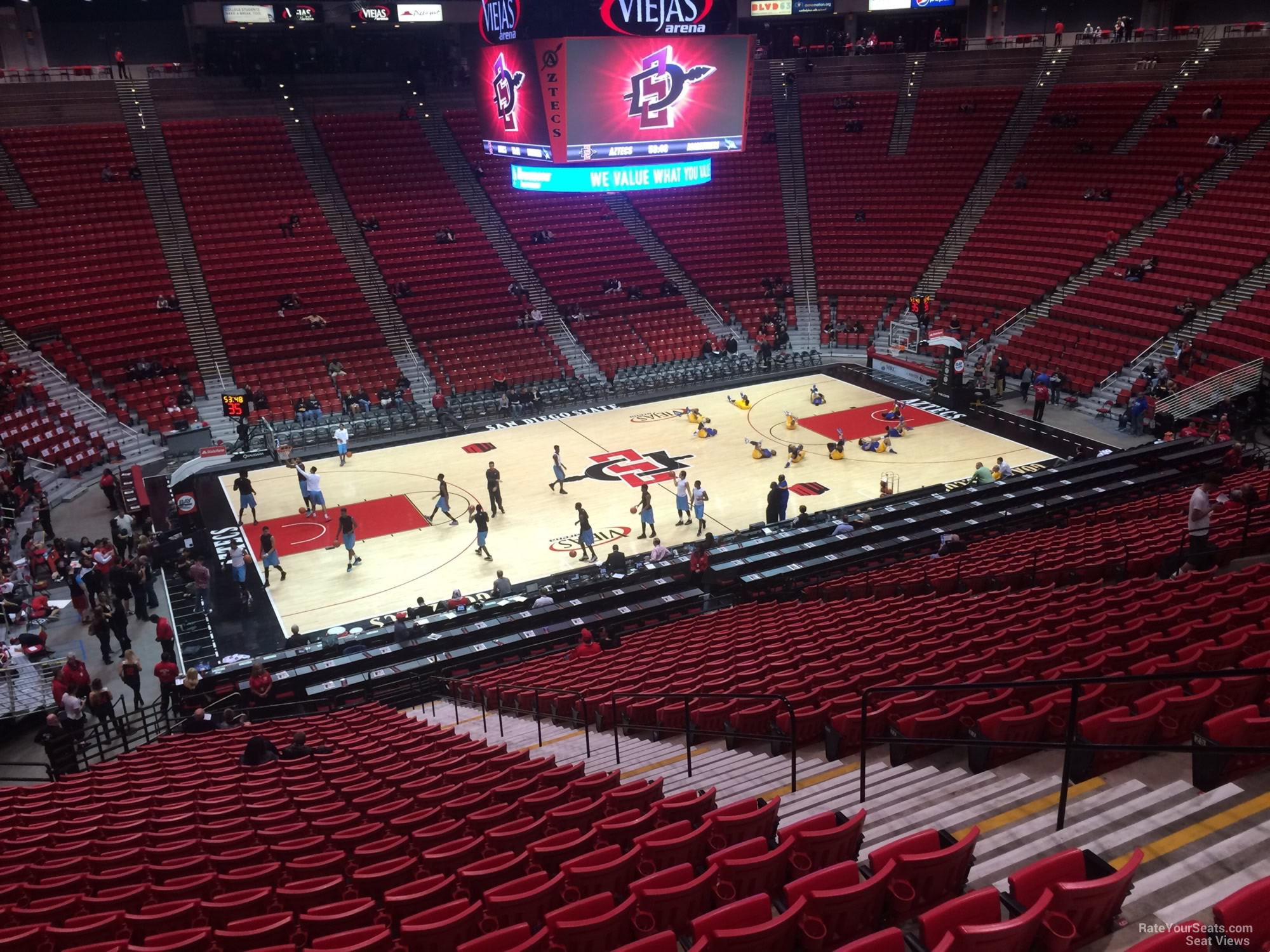Section P seat view