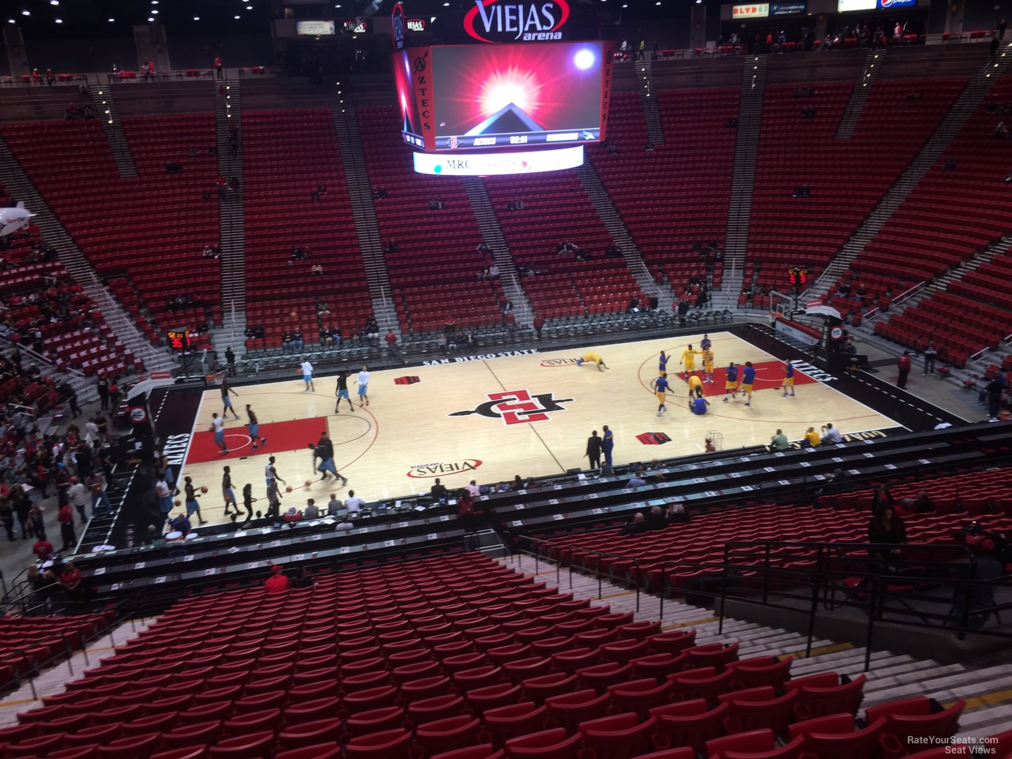 Section Q seat view