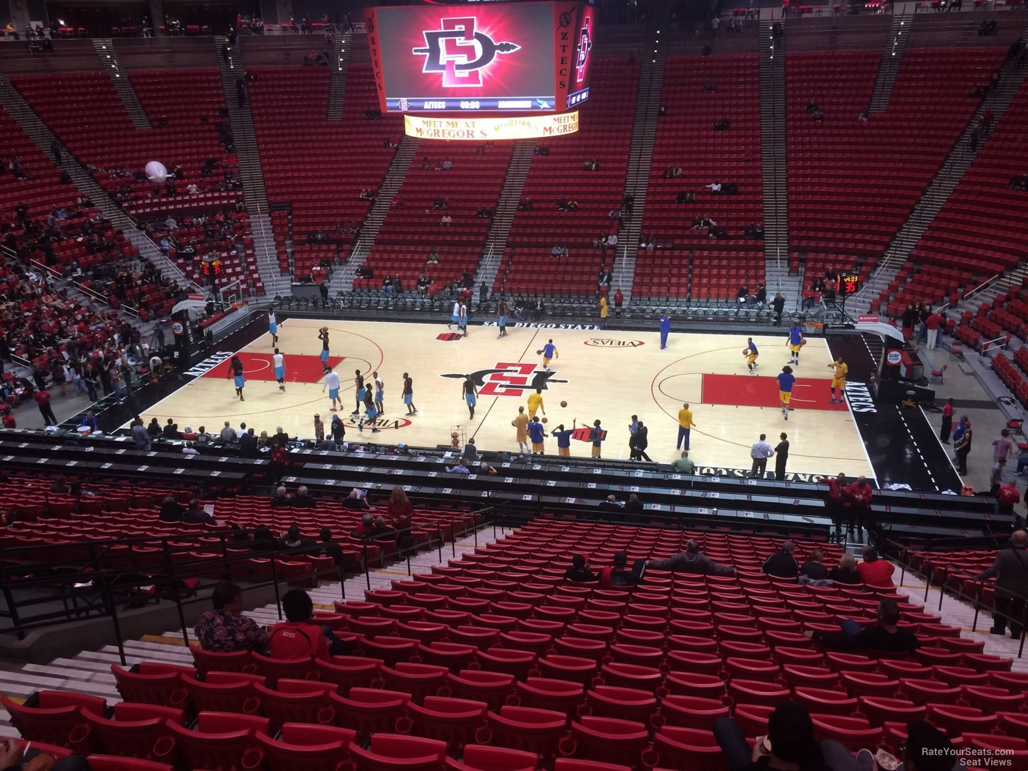Viejas Arena Section S - RateYourSeats.com
