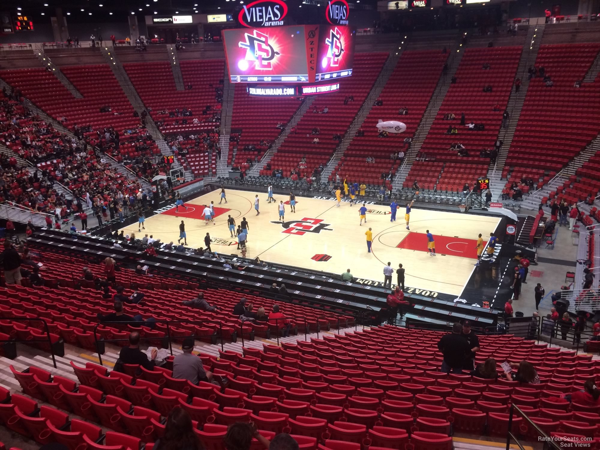 Section T seat view