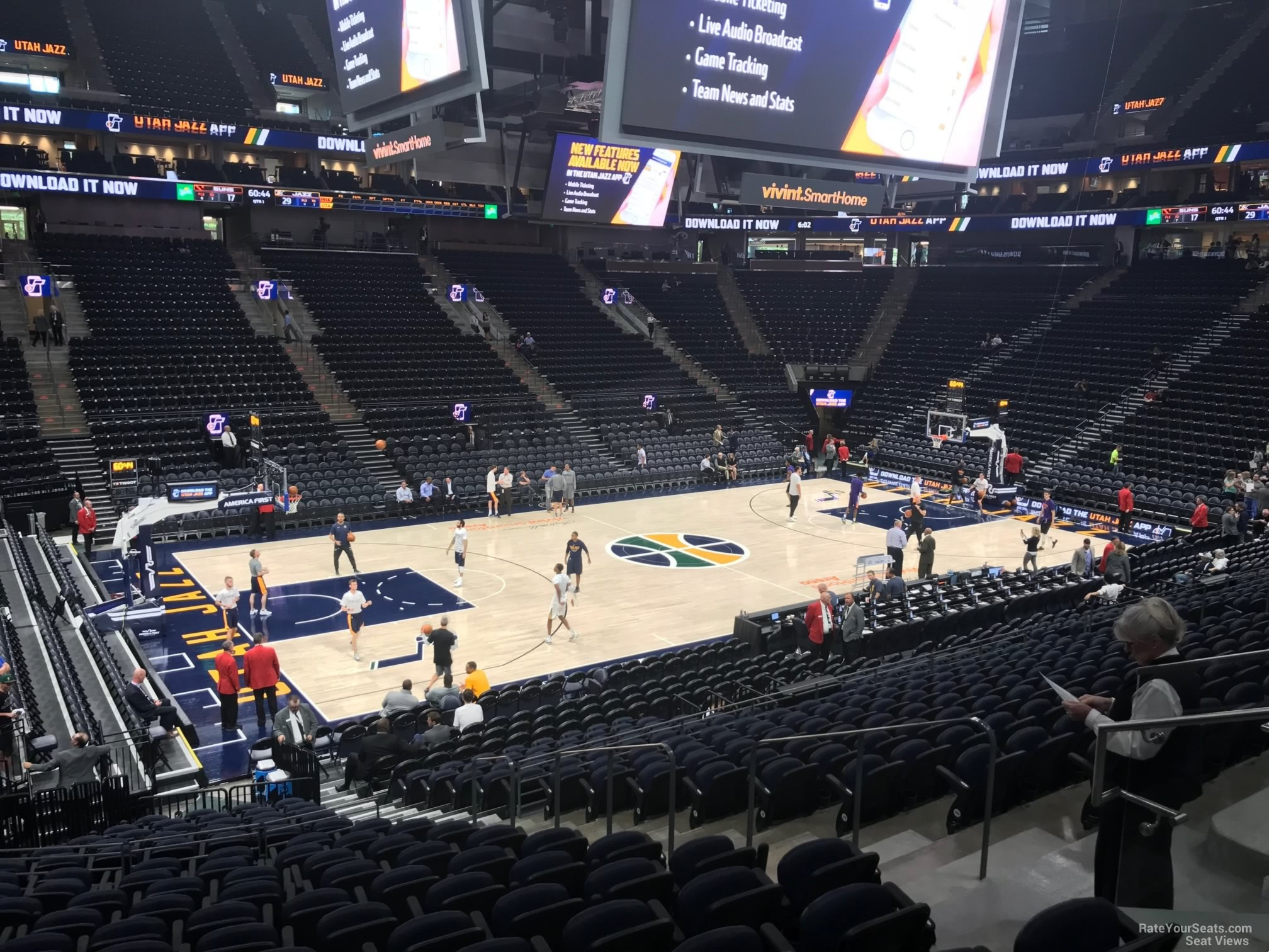 Section 9 seat view