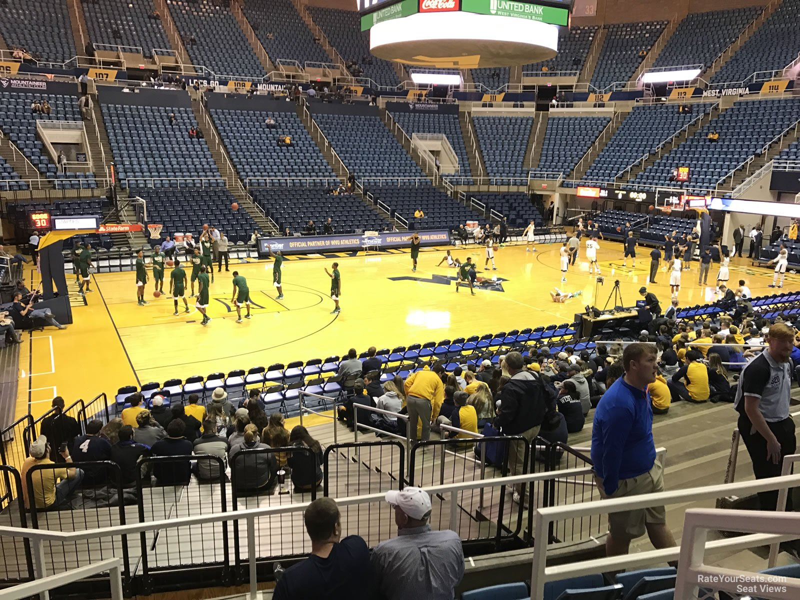 Wvu Coliseum Seating