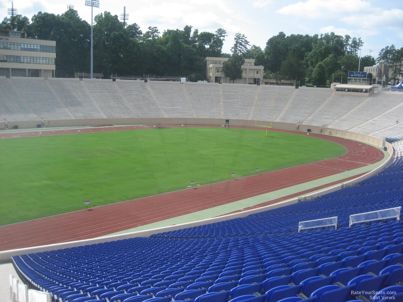 Seat View for Wallace Wade Stadium Section 3, Row SS