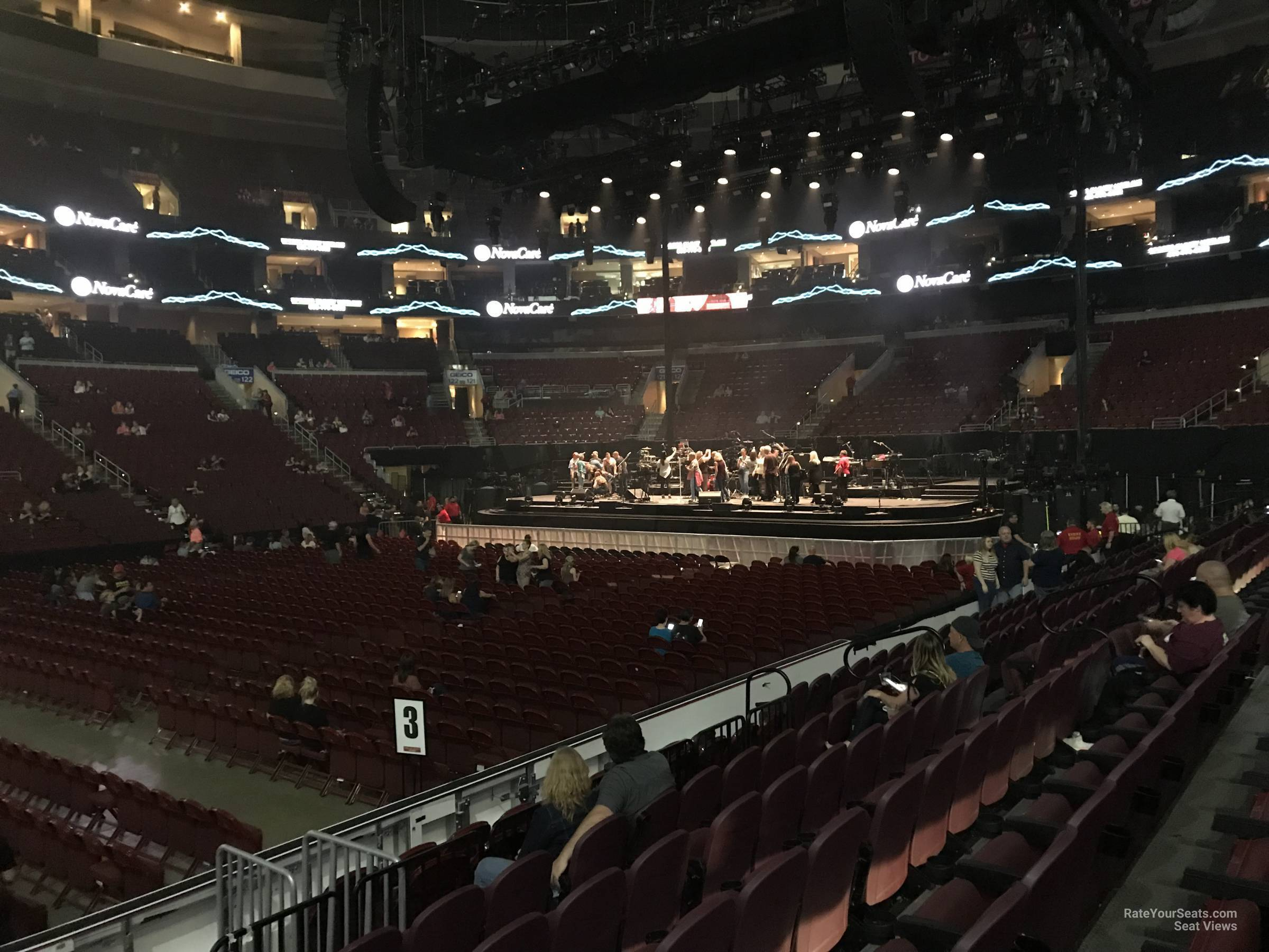 Wells Fargo Center Concert Section 112 Row 8 on 5 3 2018 FL