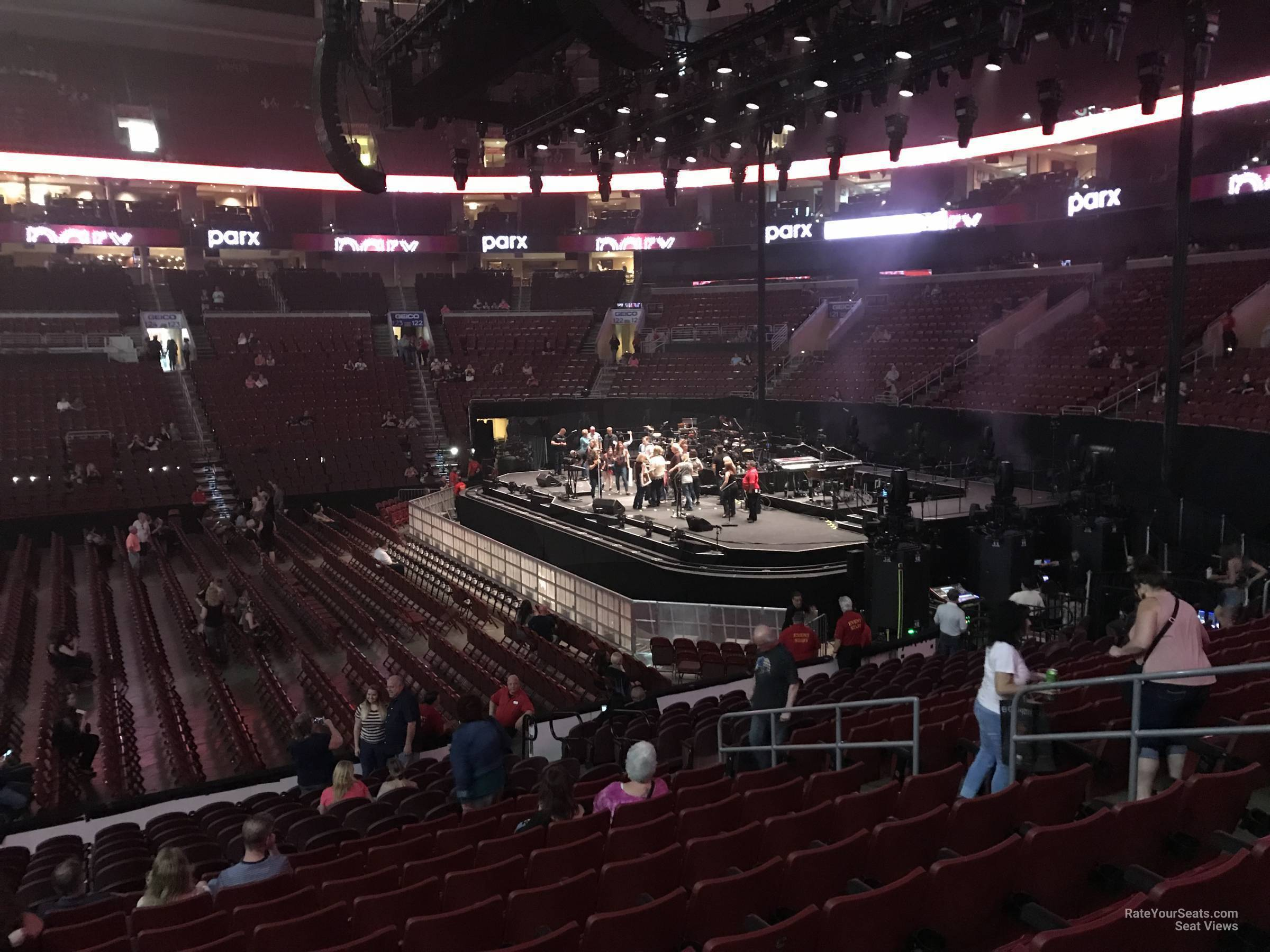 Wells Fargo Center Concert Section 114 Row 17 on 5 3 2018 FL