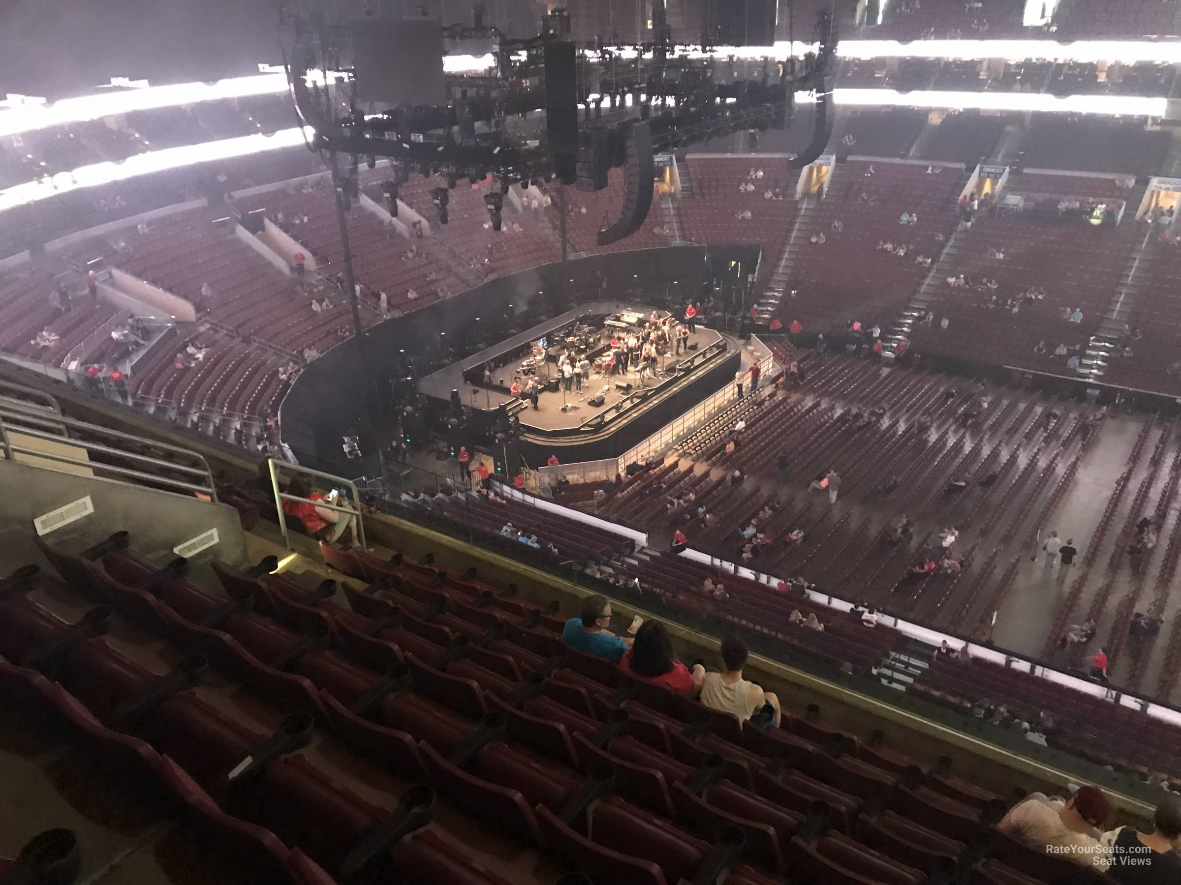 Concert Seat View for Wells Fargo Center Section 201