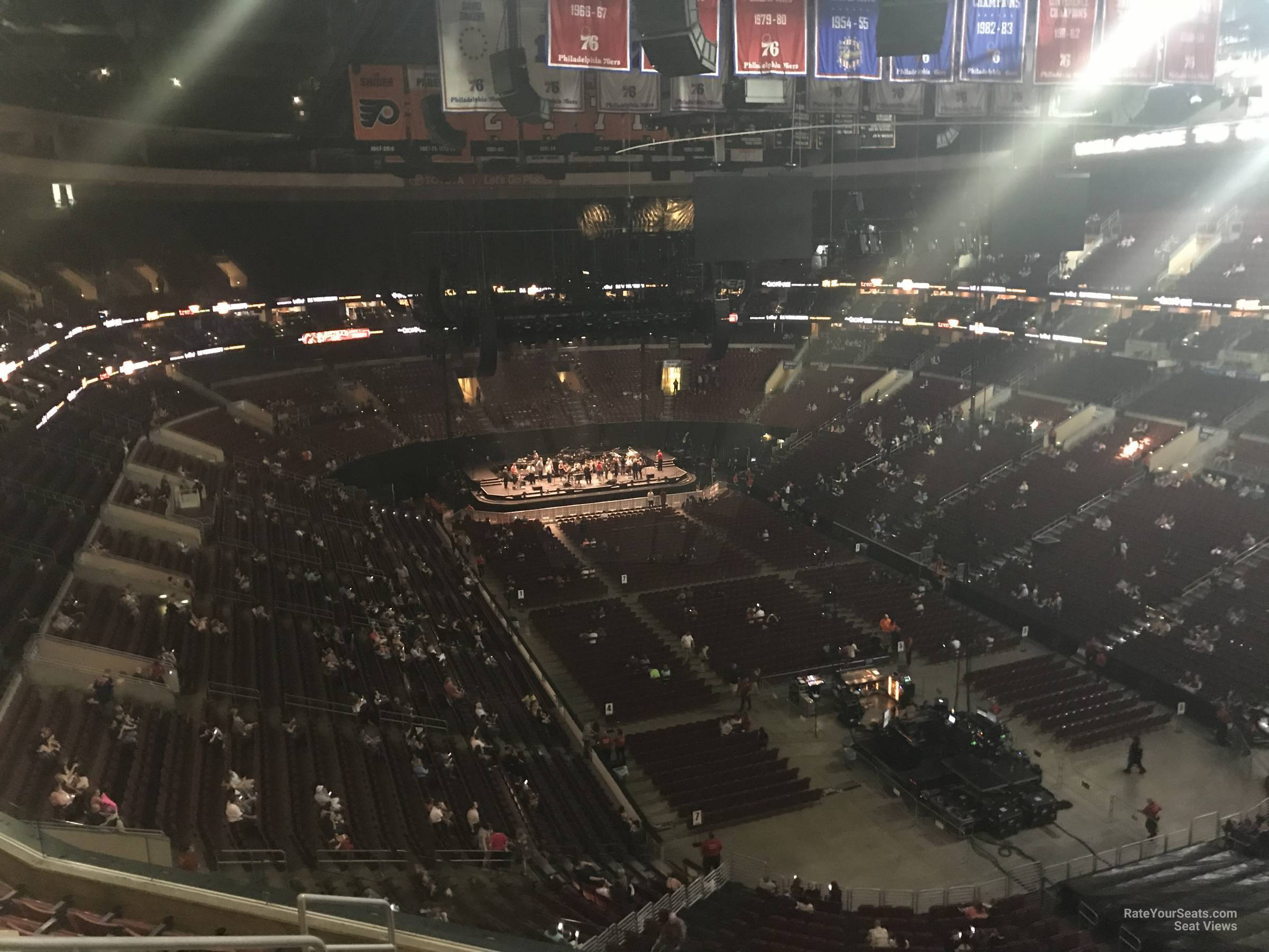 Wells Fargo Center Concert Section 205A Row 7 on 5 3 2018 FL