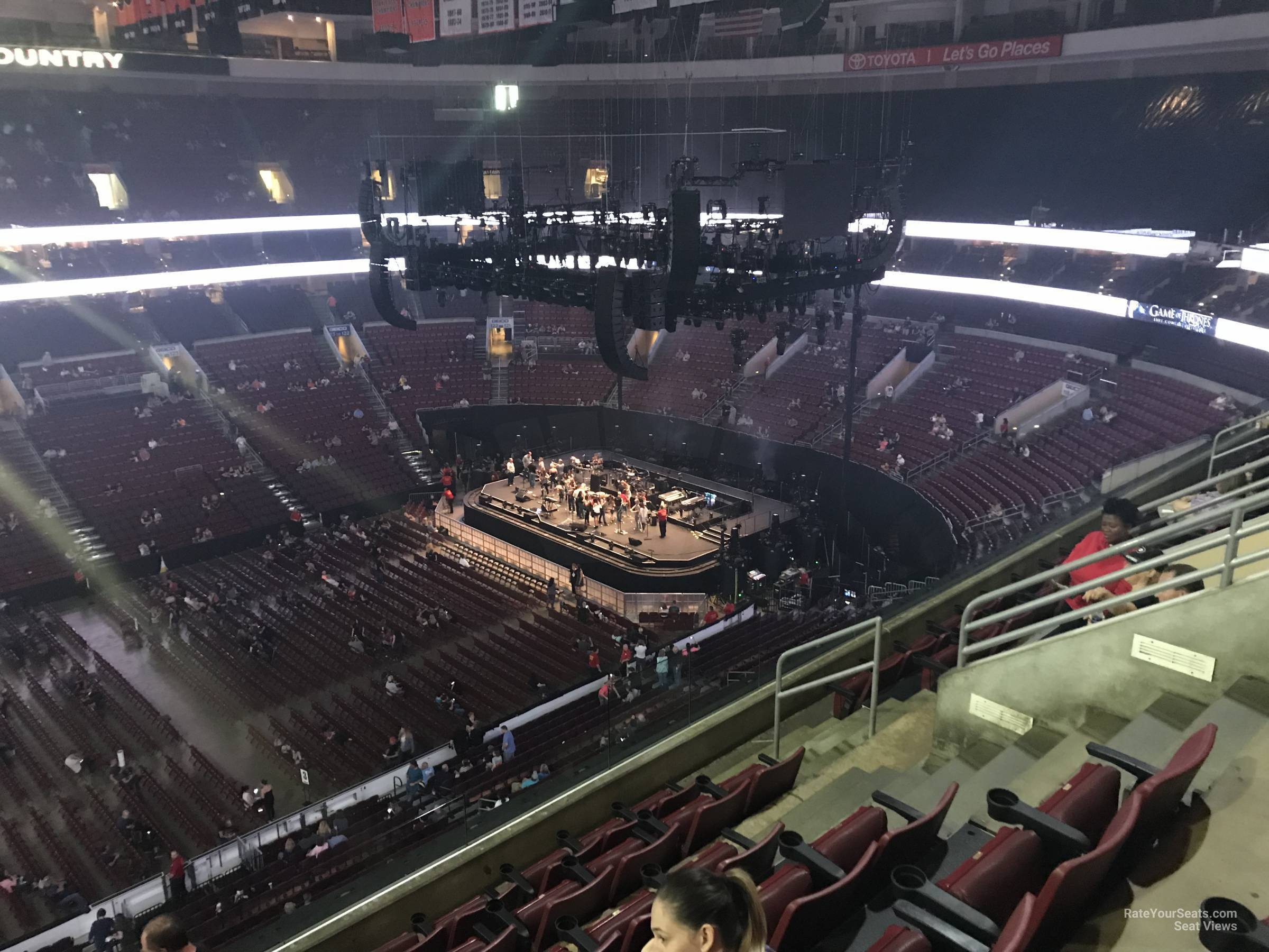 Section 212 seat view