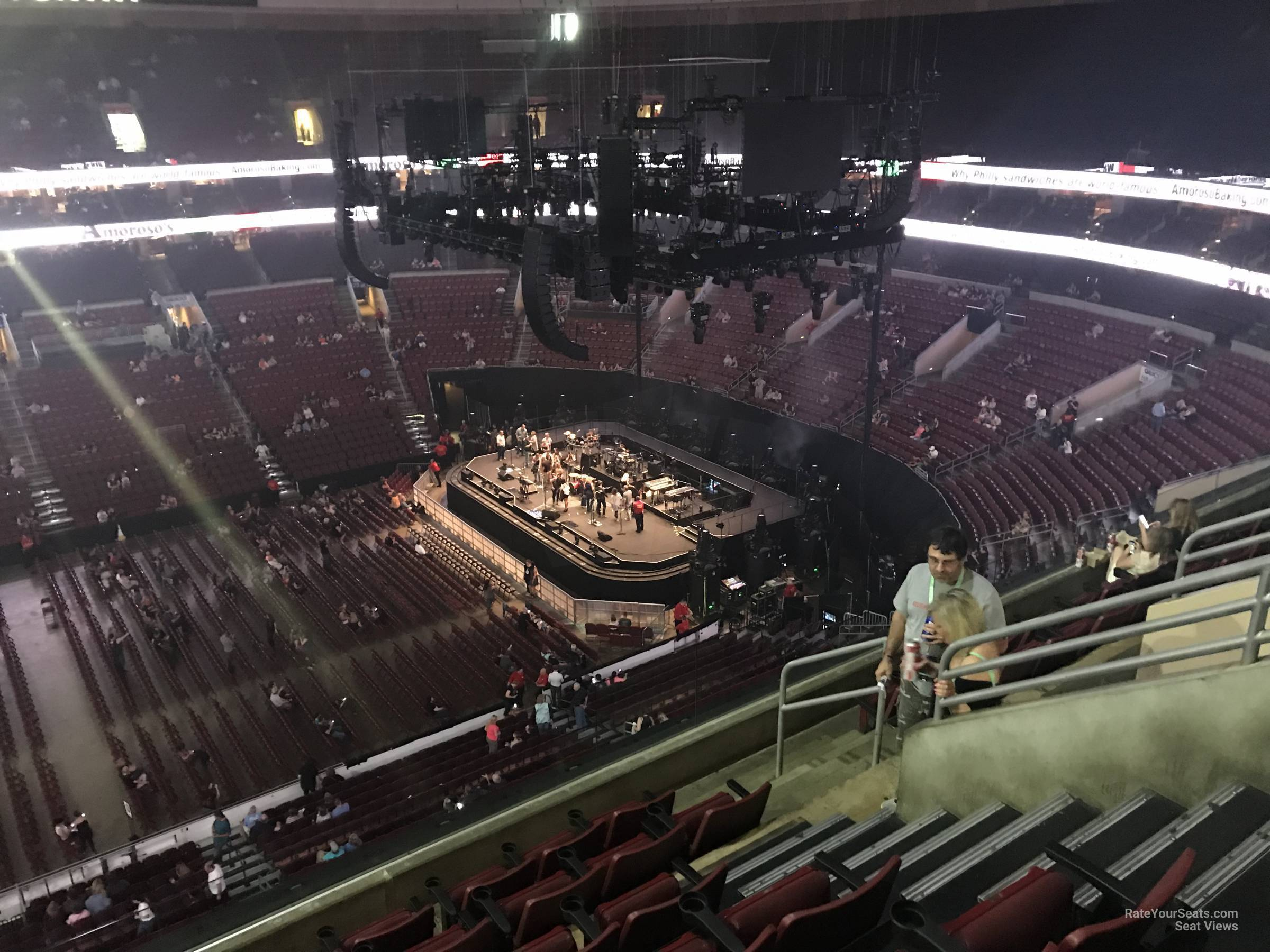 Wells Fargo Center Concert Section 213 Row 7 on 5 3 2018 FL