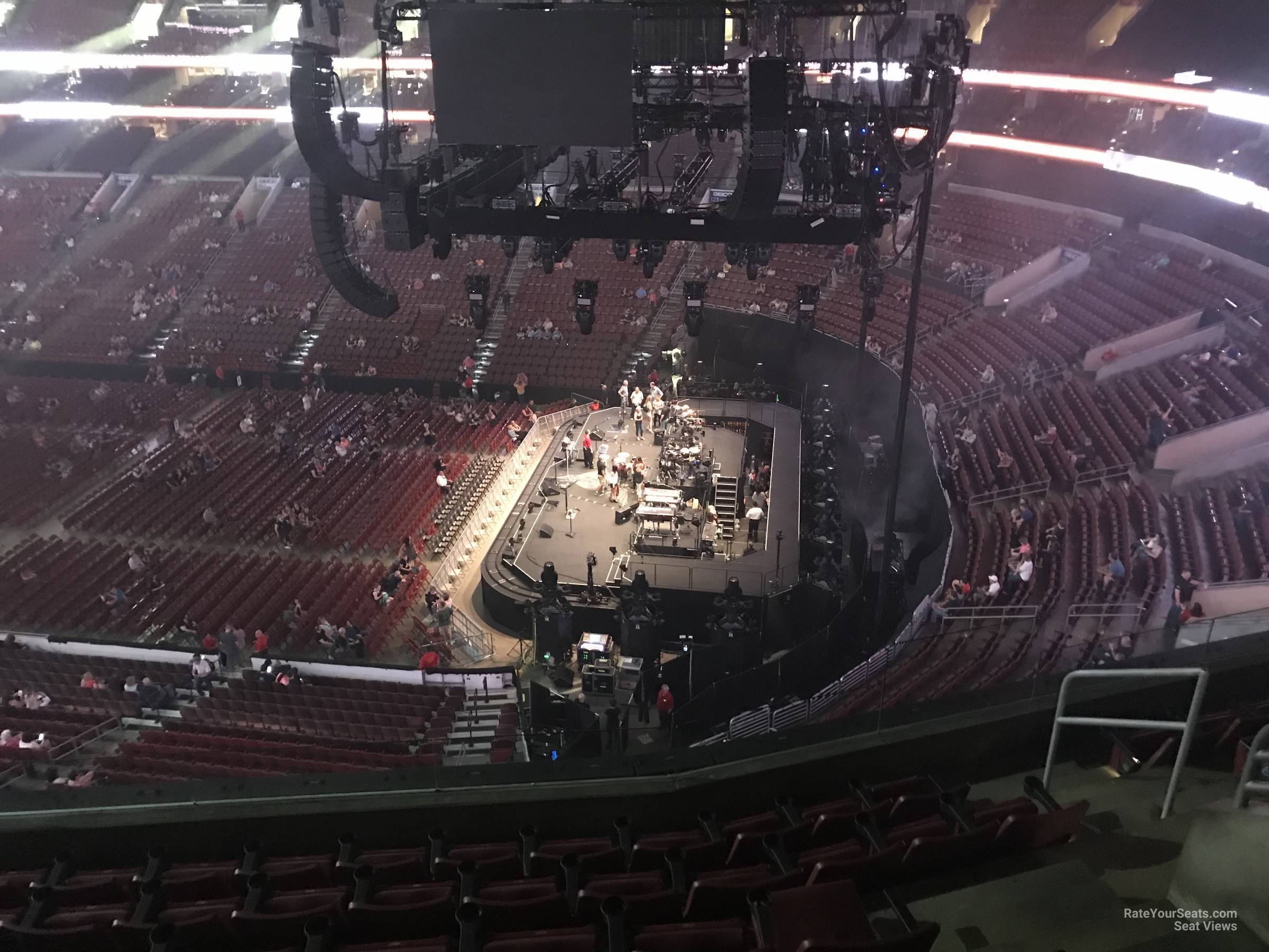 Concert Seat View for Wells Fargo Center Section 215