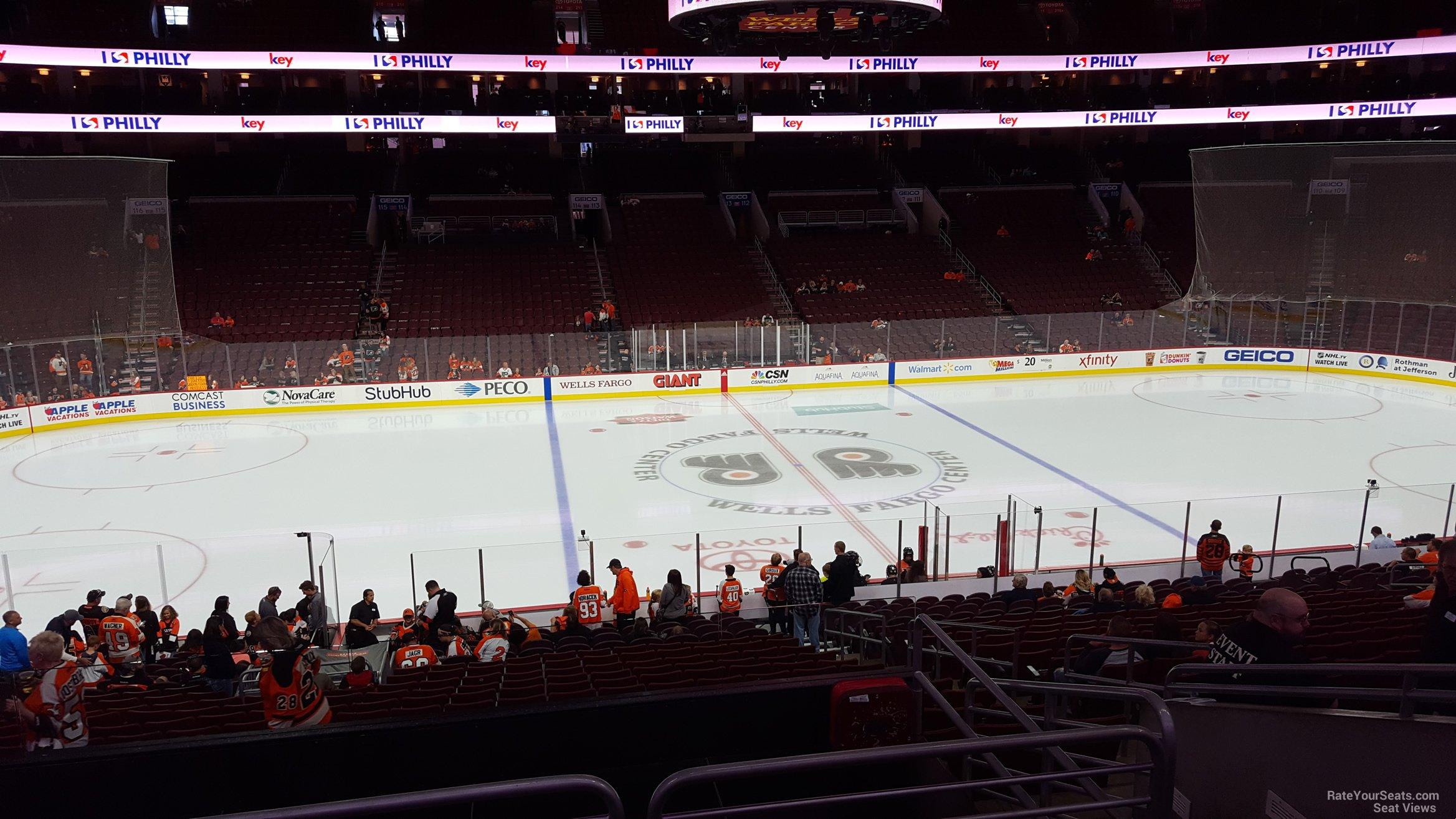 Club Box 24 seat view