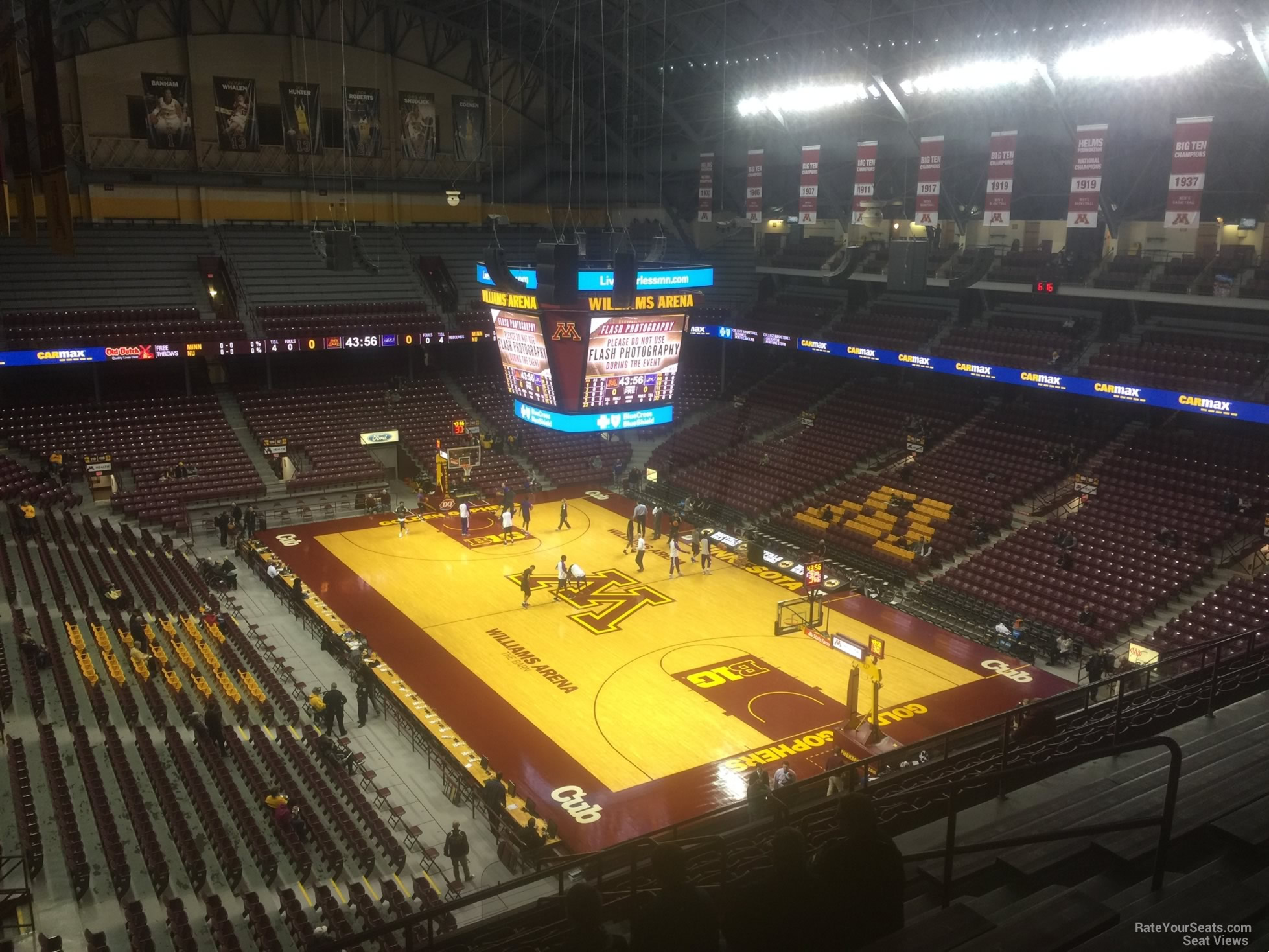 Section 215 seat view