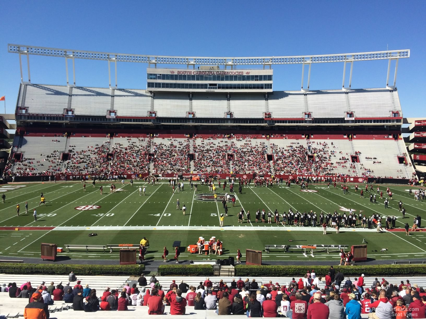 williams brice stadium Just across the street from williams-brice stadium at the corner of bluff road and south stadium drive—where ownership affords you a very unique opportunity to entertain family, friends and business associates in a variety of ways, which include luxurious one, two and three bedroom condominiums and prime game day parking options.